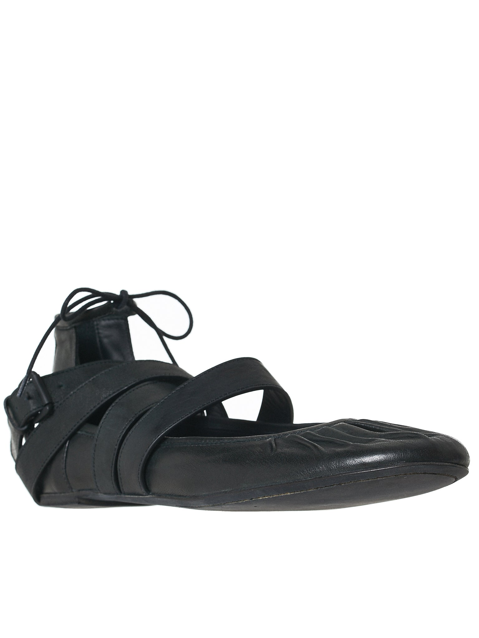 Ann Demeulemeester Leather Flats - Hlorenzo Side