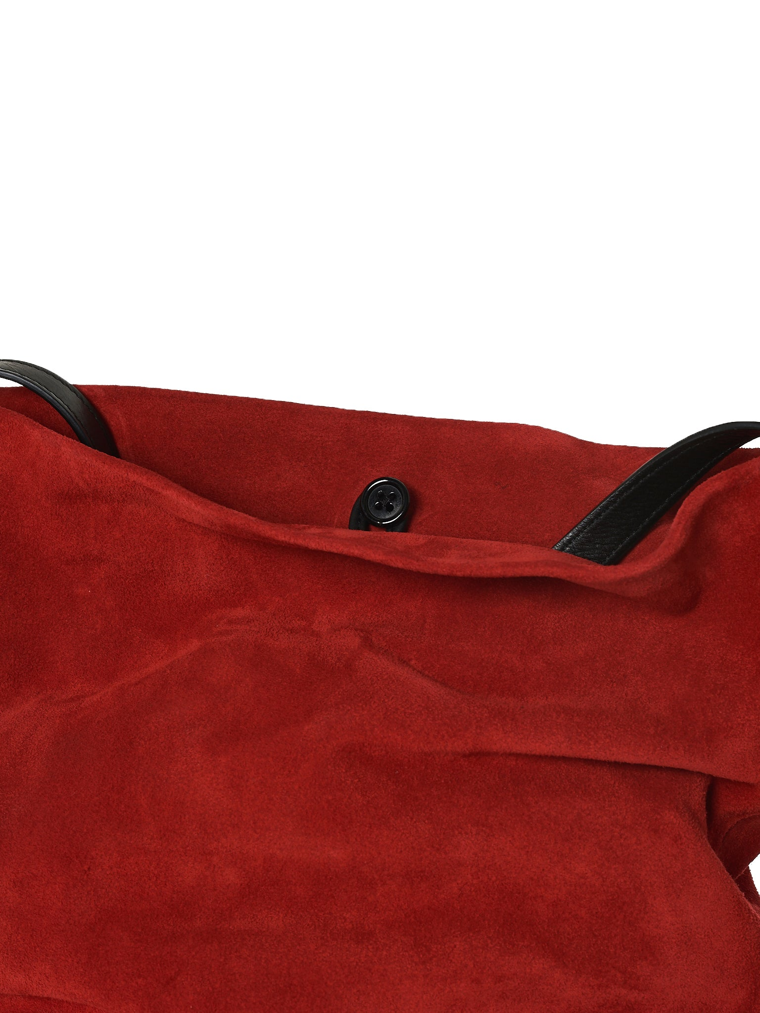 Object-Dyed Suede Leather Bag (1801-8404-362-039)