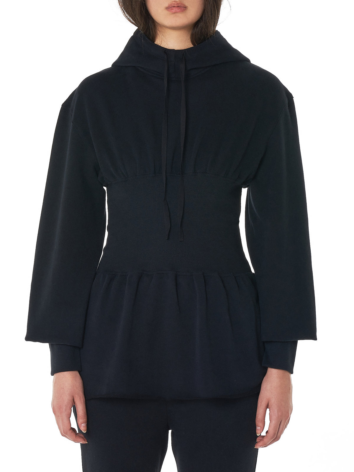 Ann Demeulemeester Hoodie - Hlorenzo Front