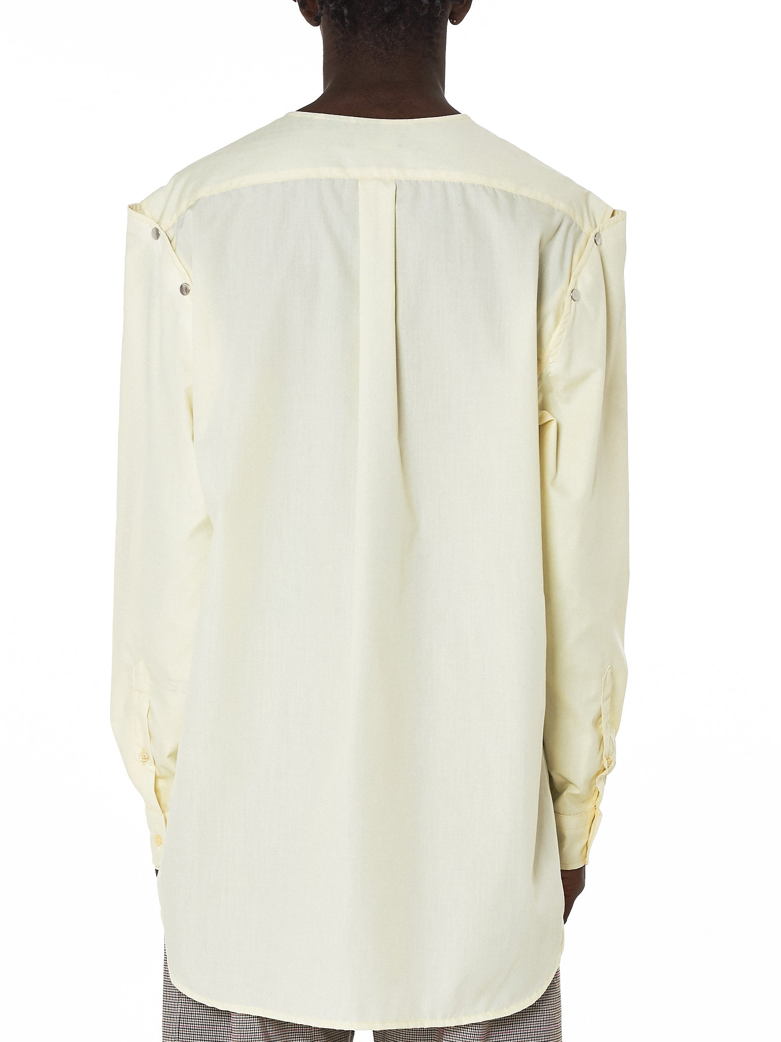 Raf Simons Deconstructed Shirt - Hlorenzo Back