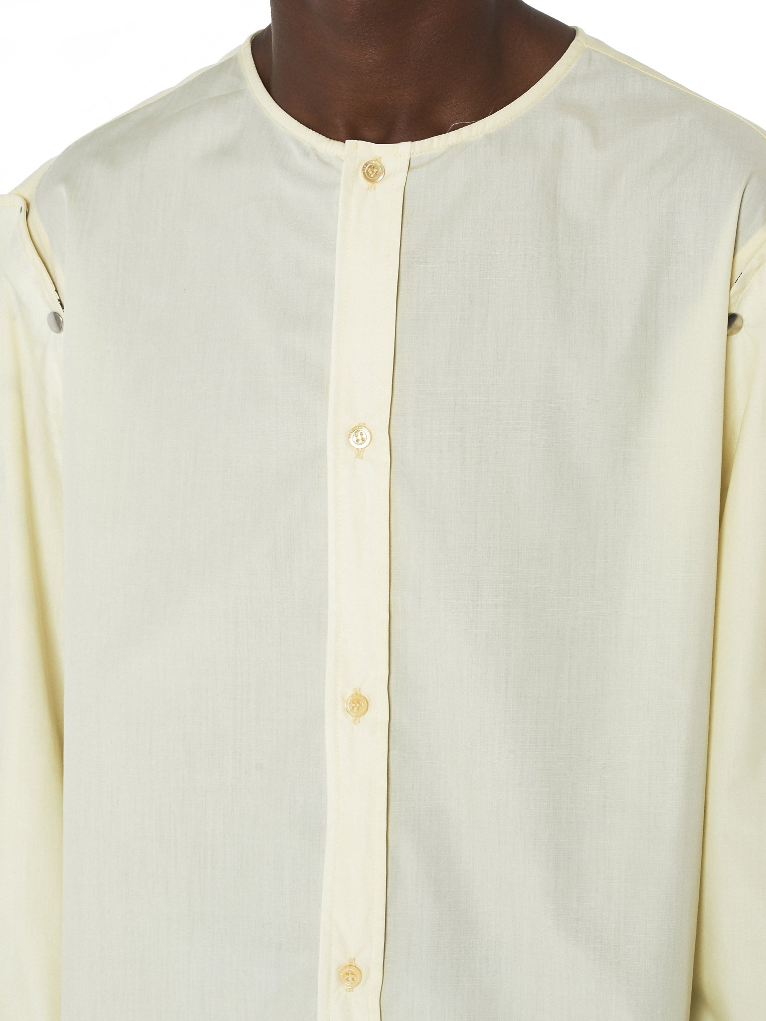 Raf Simons Deconstructed Shirt - Hlorenzo Detail 1