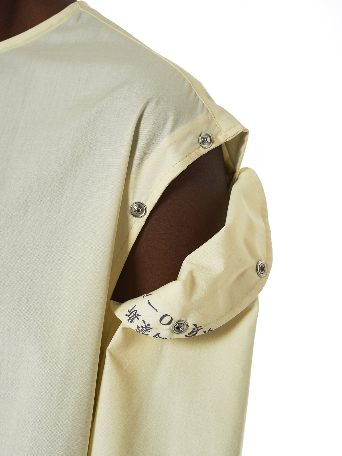 Raf Simons Deconstructed Shirt - Hlorenzo Detail 2