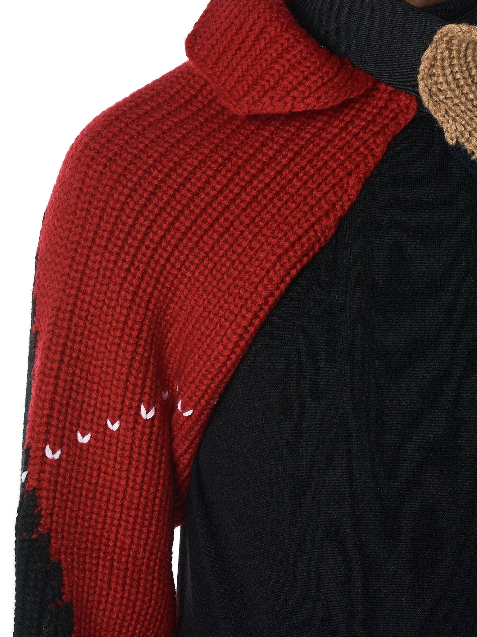 Raf Simons Knit Sleeves - Hlorenzo Detail 1