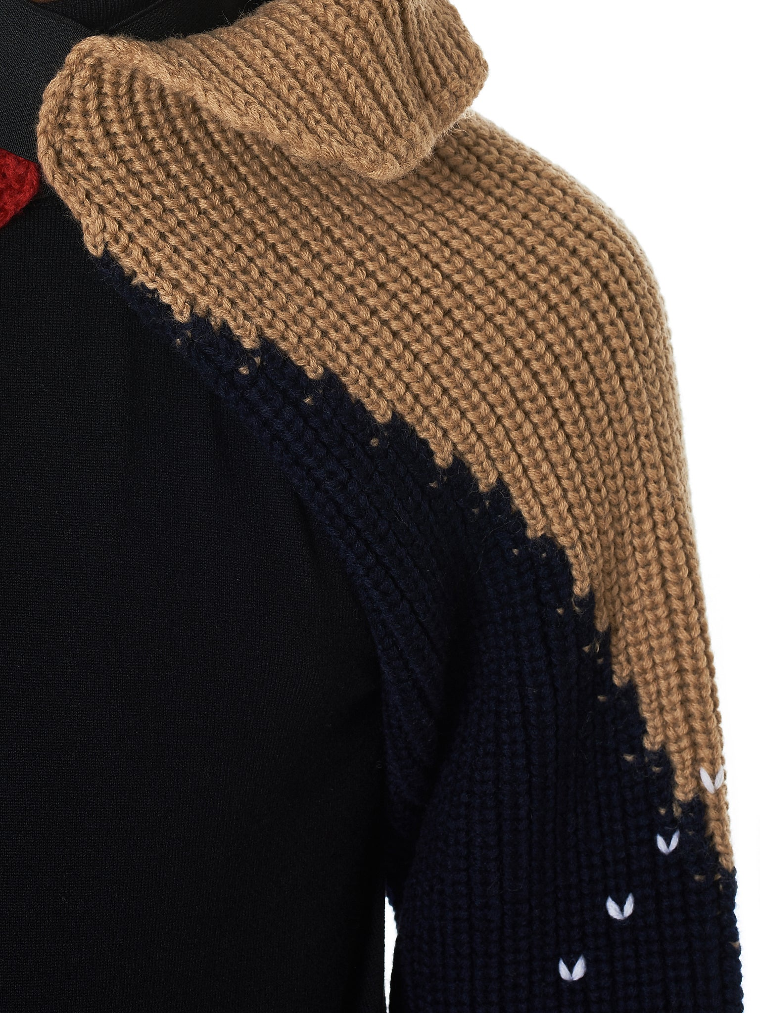 Raf Simons Knit Sleeves - Hlorenzo Detail 2