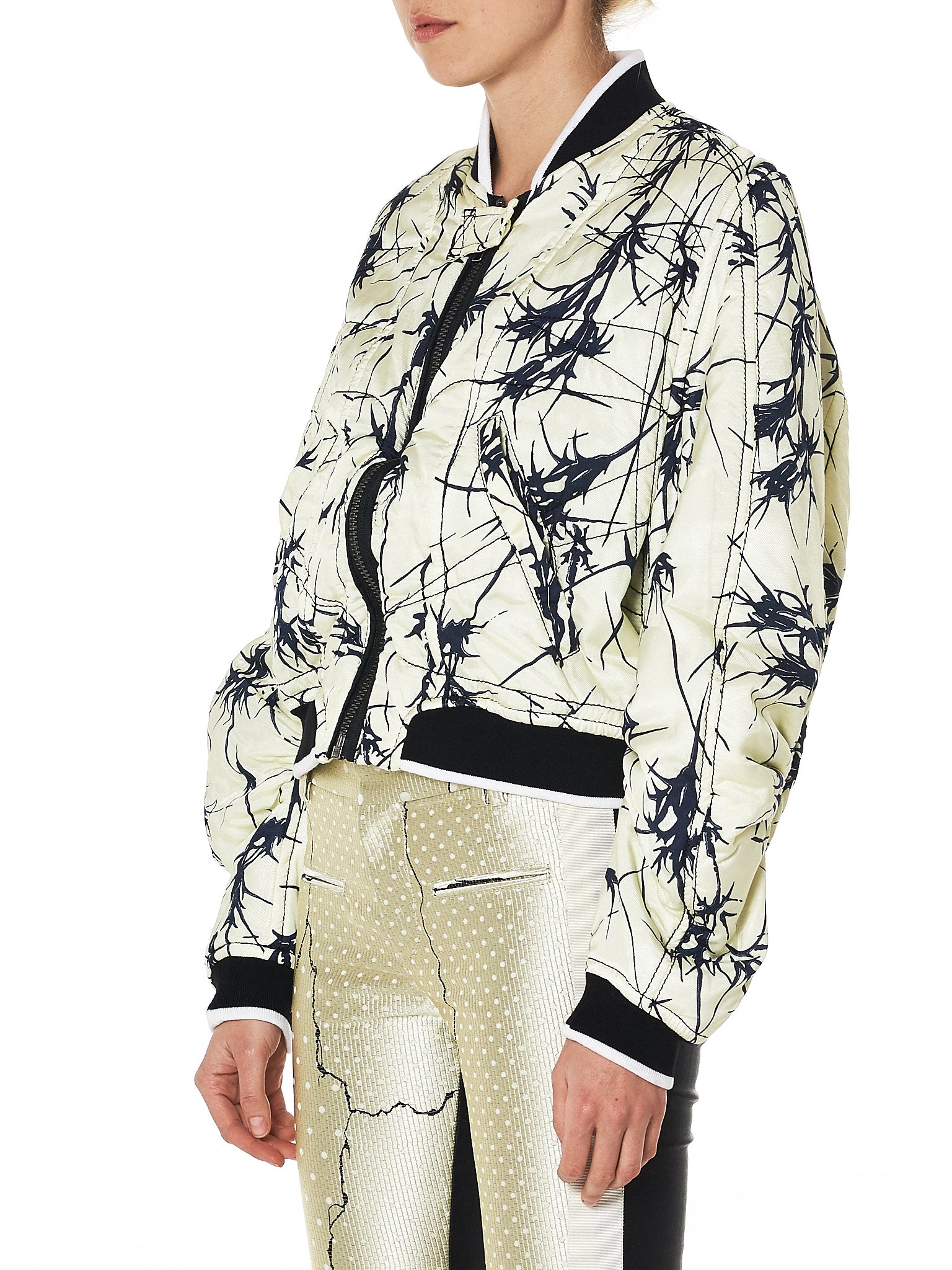 Haider Ackermann Bomber Jacket - Hlorenzo Side