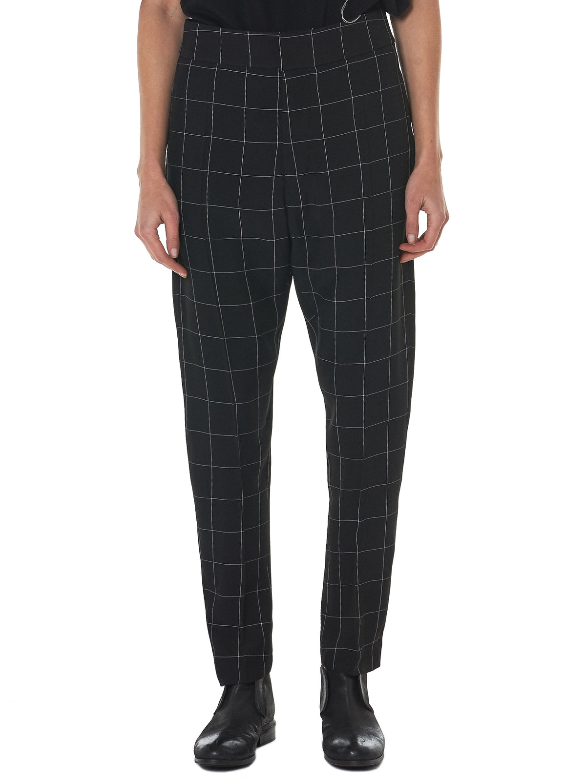 Haider Ackermann Check Trousers - Hlorenzo Front