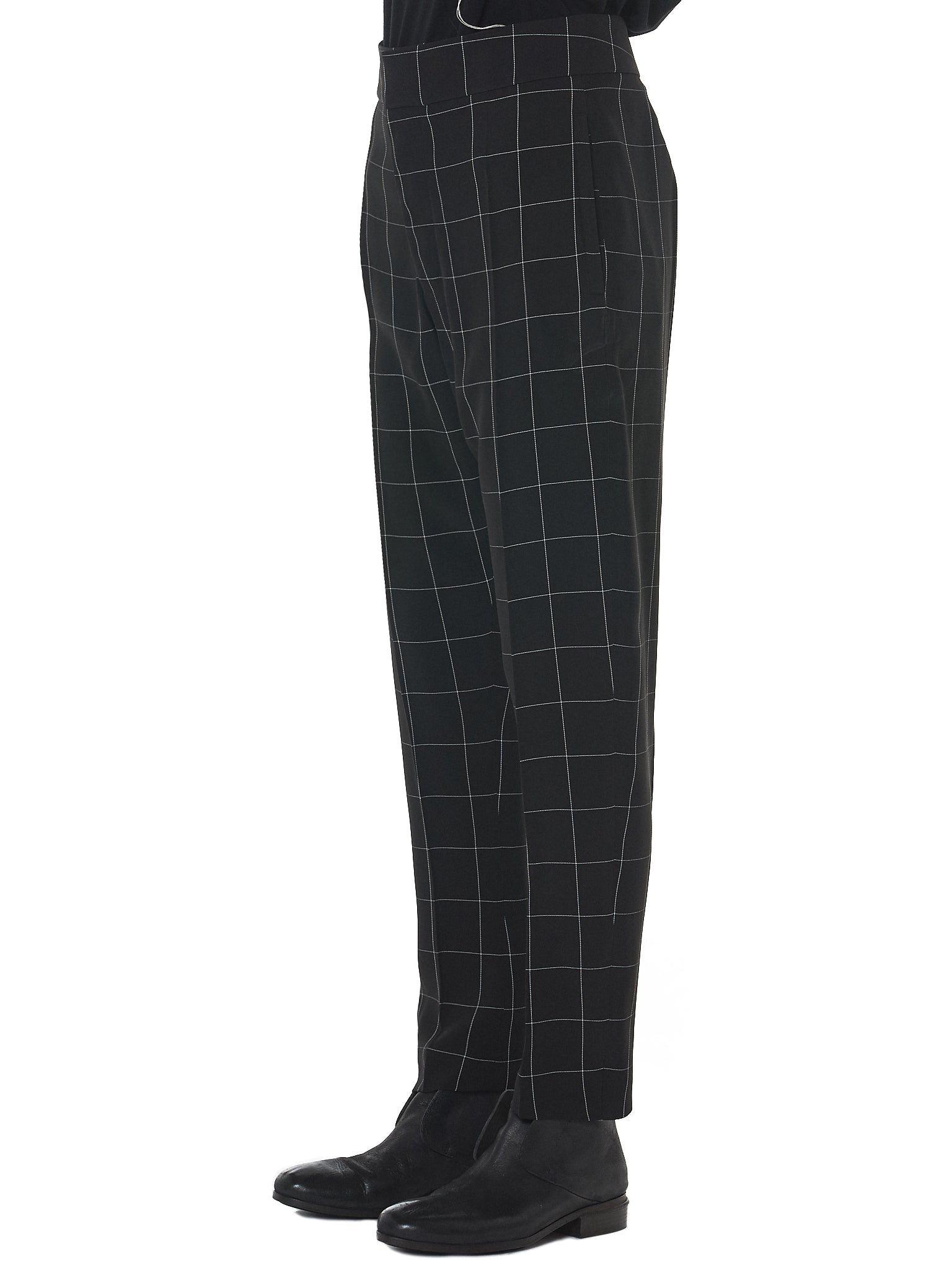 Haider Ackermann Check Trousers - Hlorenzo Side
