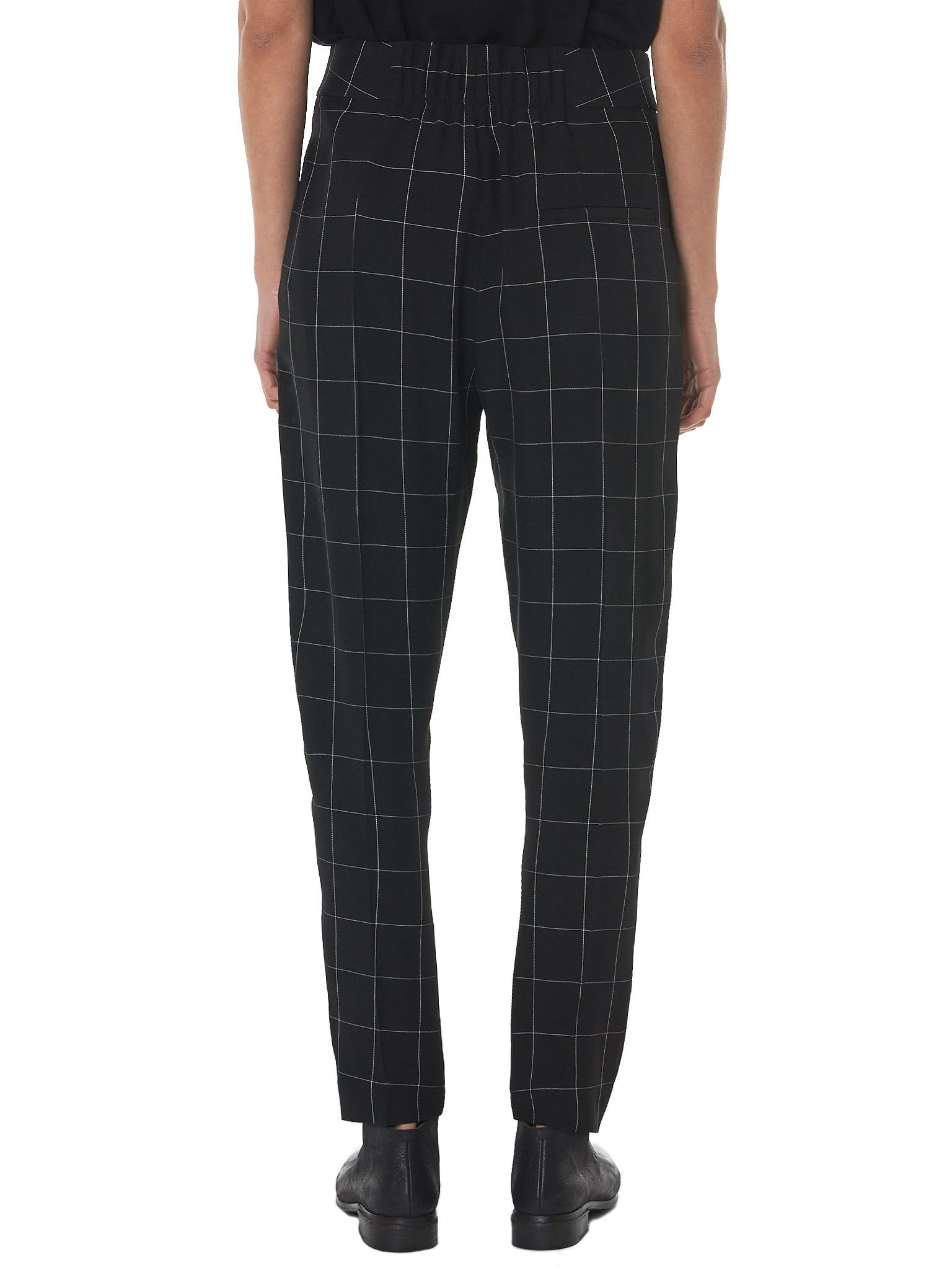 Haider Ackermann Check Trousers - Hlorenzo Back