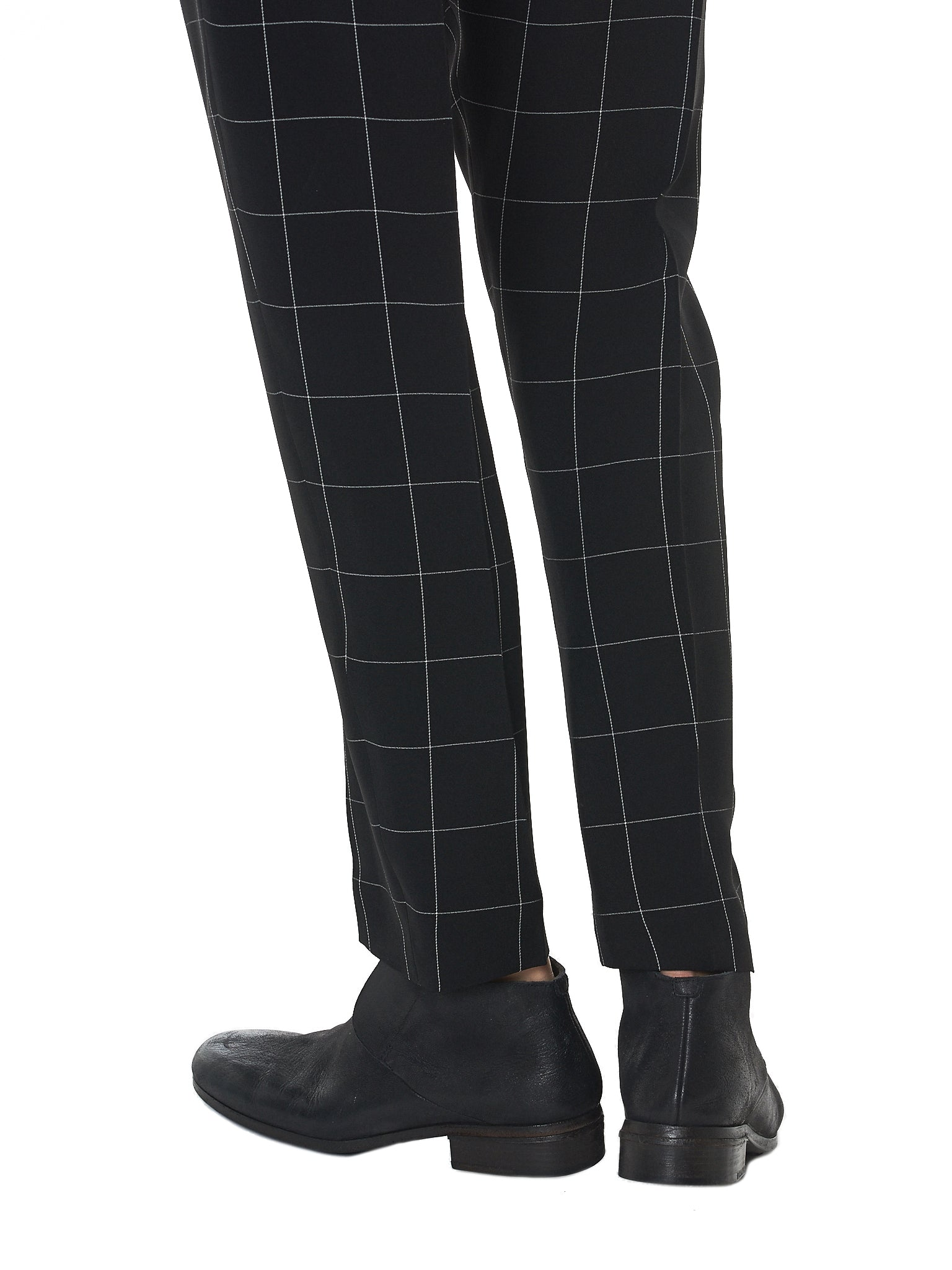 Haider Ackermann Check Trousers - Hlorenzo Detail 1