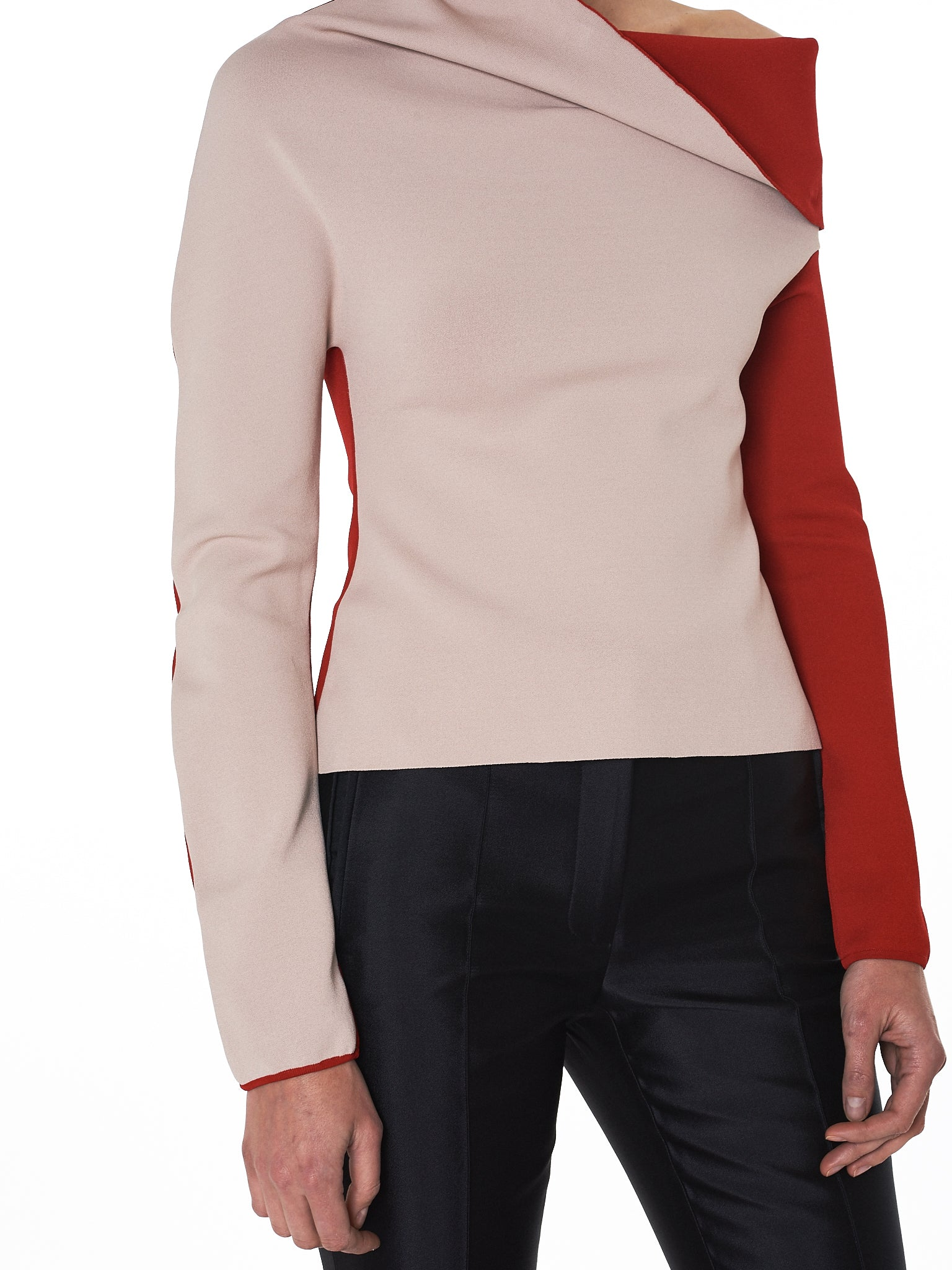 Draped Knit Sweater (183-2604-338-026)