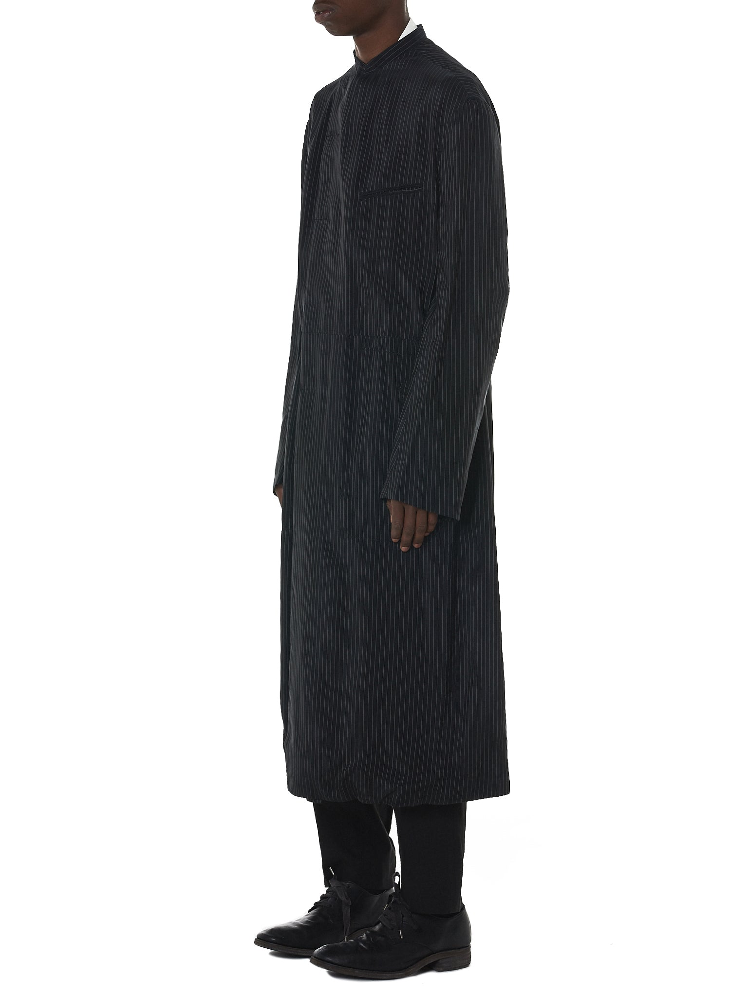 Haider Ackermann Pinstripe Coat - Hlorenzo Side