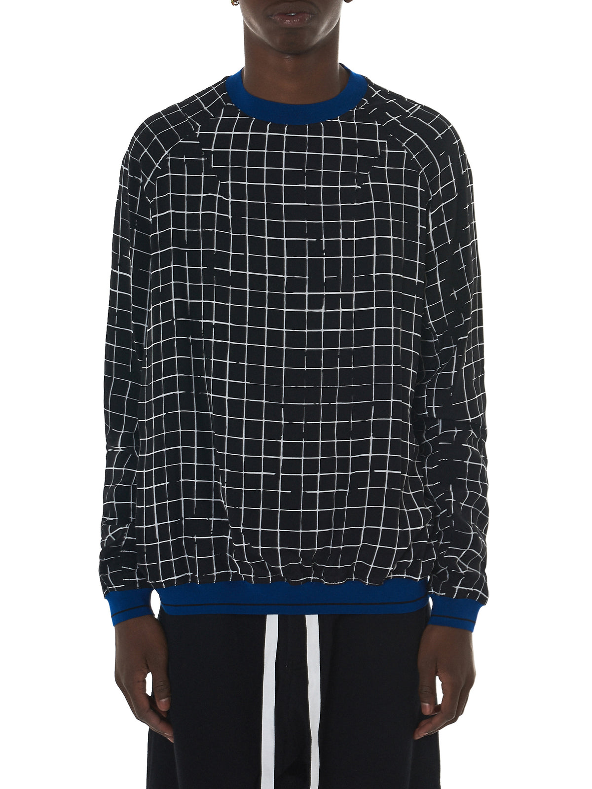 Haider Ackermann Grid Check Sweater - Hlorenzo Front