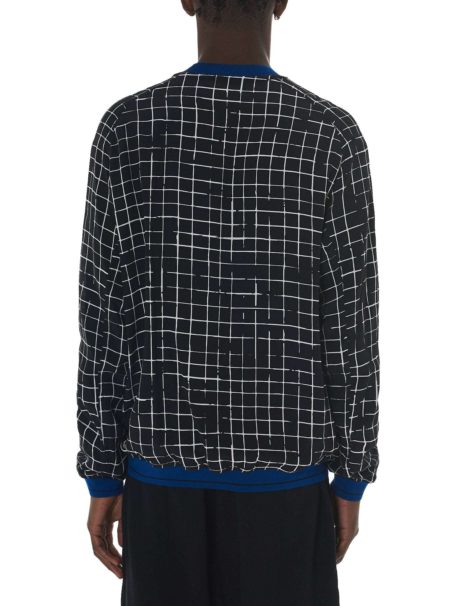 Haider Ackermann Grid Check Sweater - Hlorenzo Back