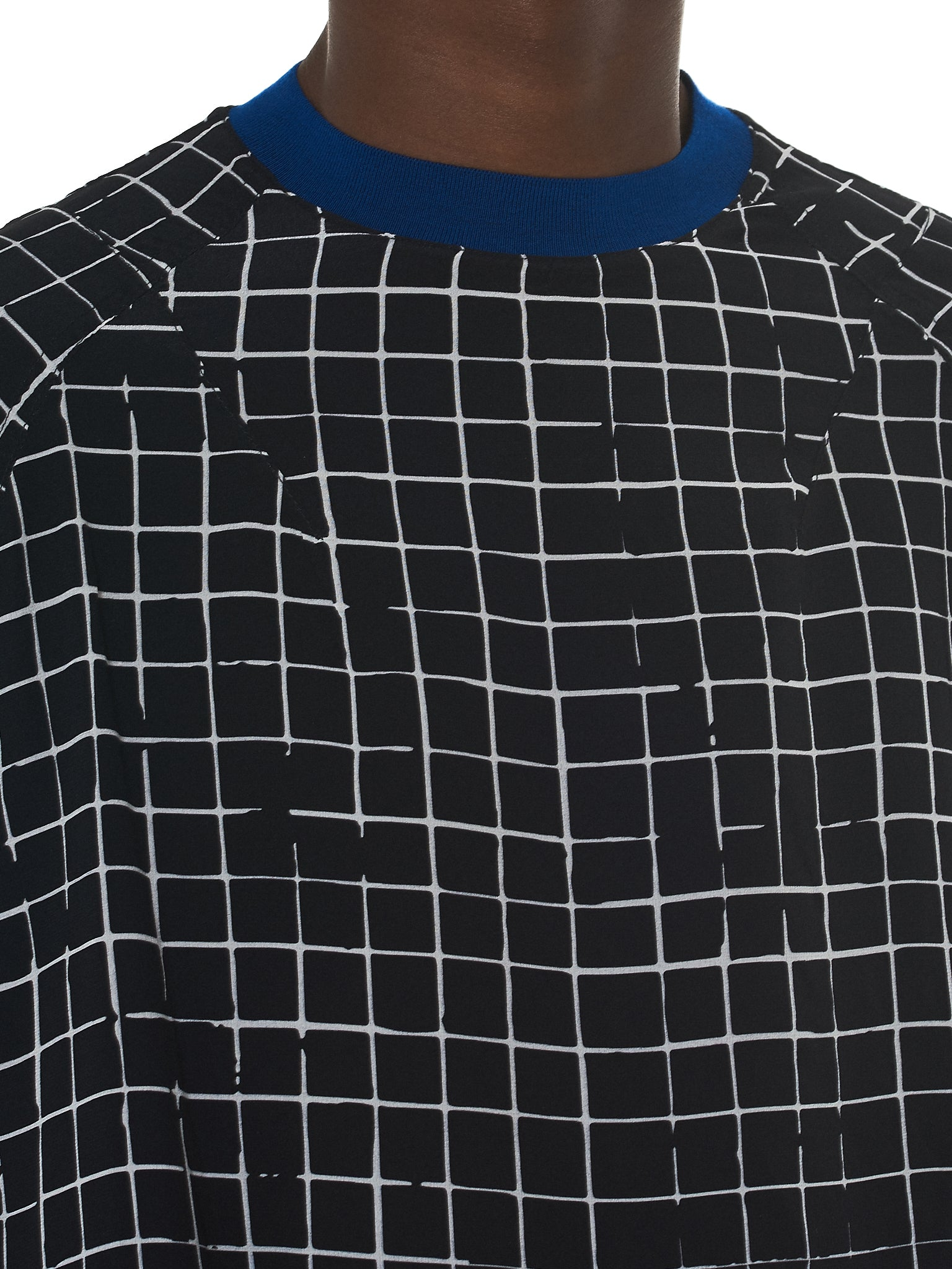 Haider Ackermann Grid Check Sweater - Hlorenzo Detail 2
