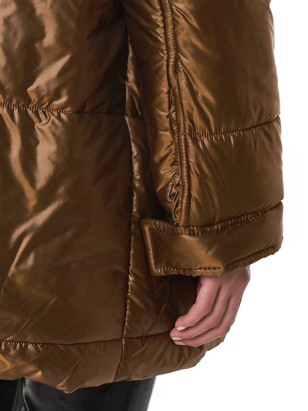 Haider Ackermann Quilted Jacket - Hlorenzo Detail 2