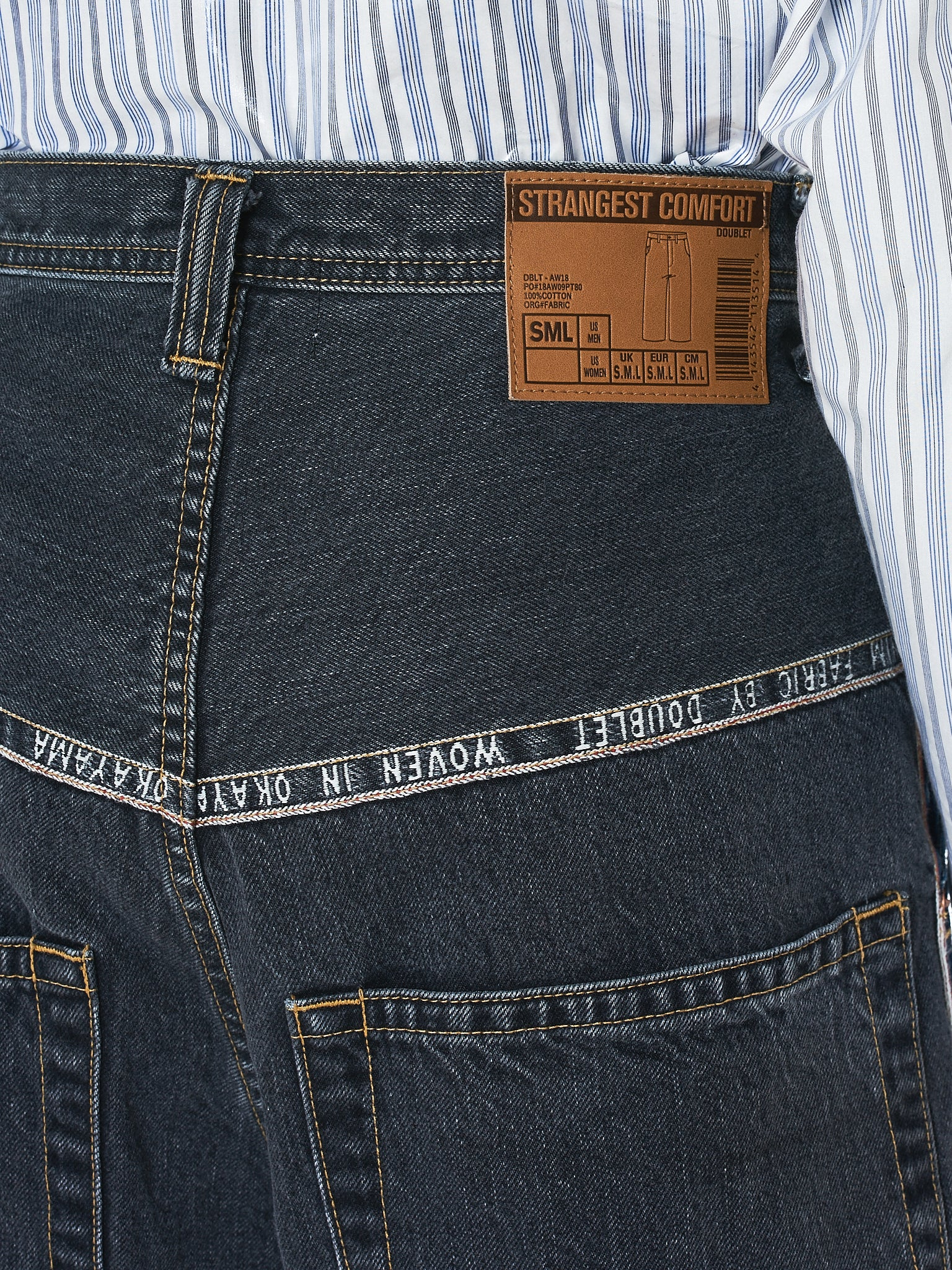 Doublet Jeans - Hlorenzo Detail 2