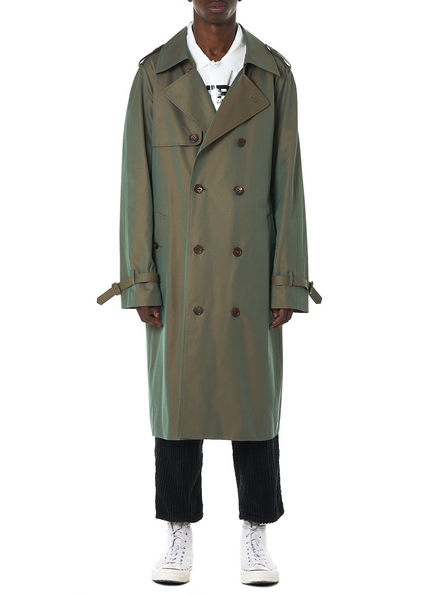 Doublet Trench Coat - Hlorenzo Front