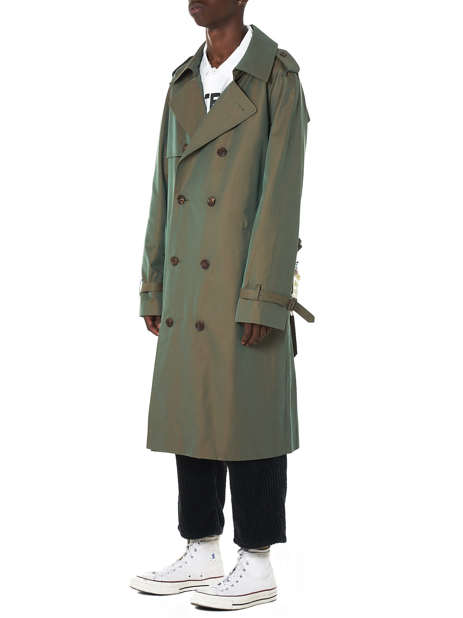 Doublet Trench Coat - Hlorenzo Side
