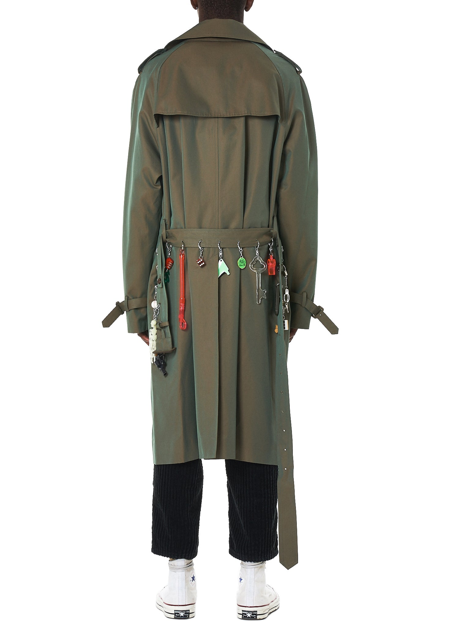Doublet Trench Coat - Hlorenzo Back