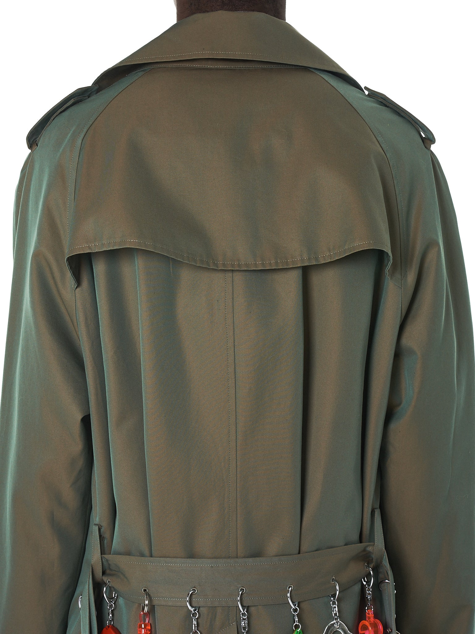 Doublet Trench Coat - Hlorenzo Back Detail