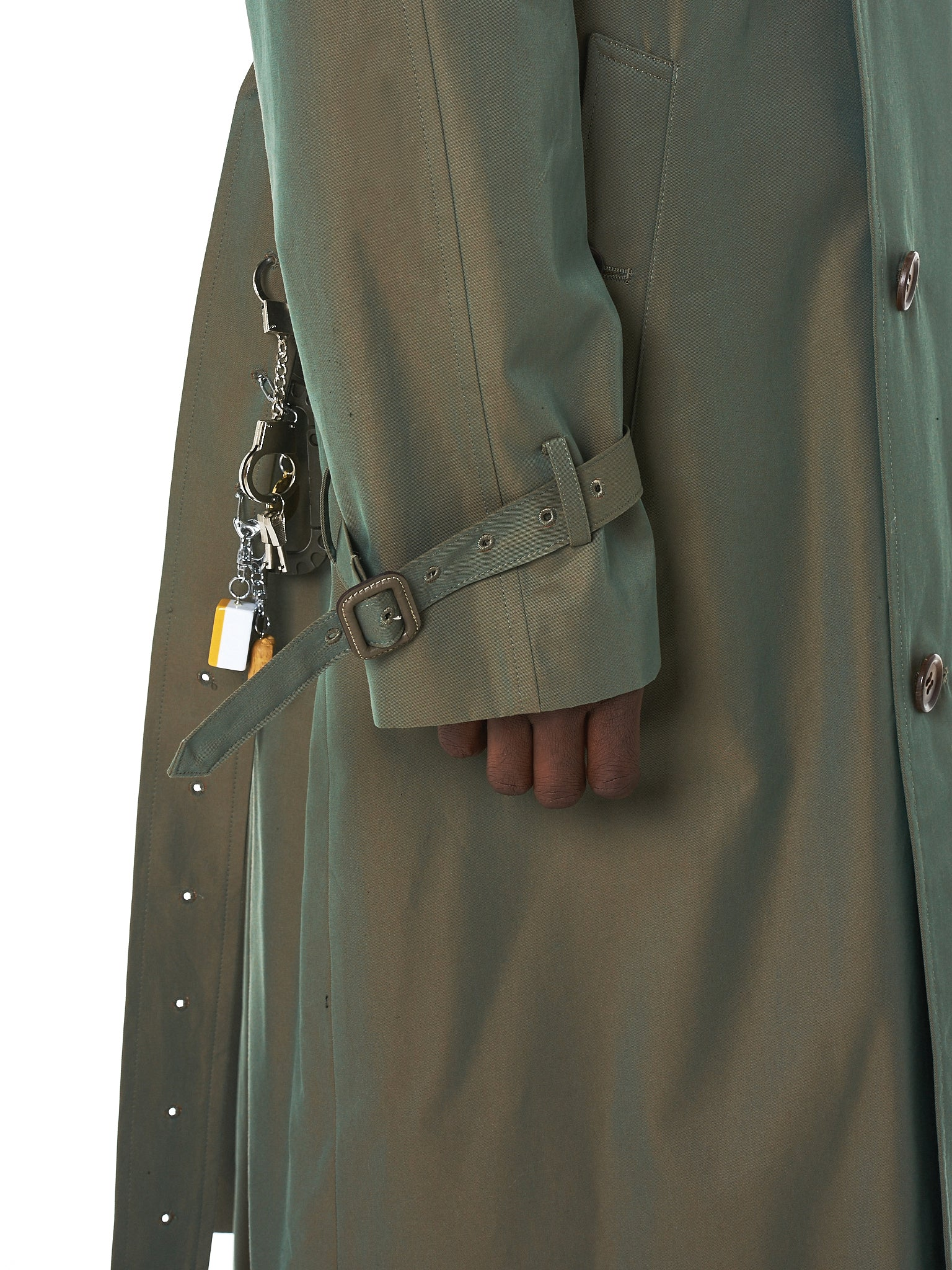 Doublet Trench Coat - Hlorenzo Sleeve Detail