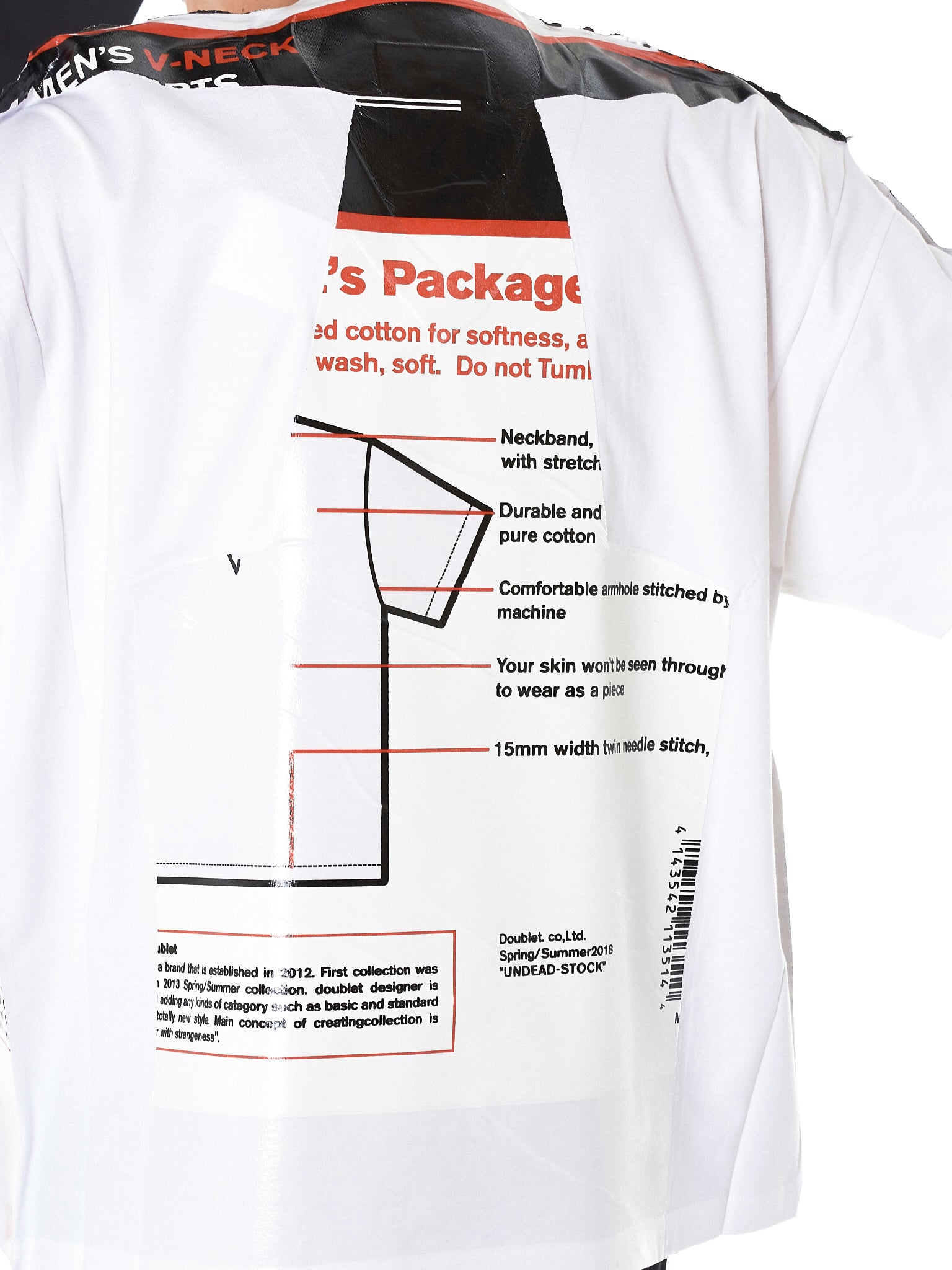 Plastic Package Tee (18SS-24CS97-WHITE)