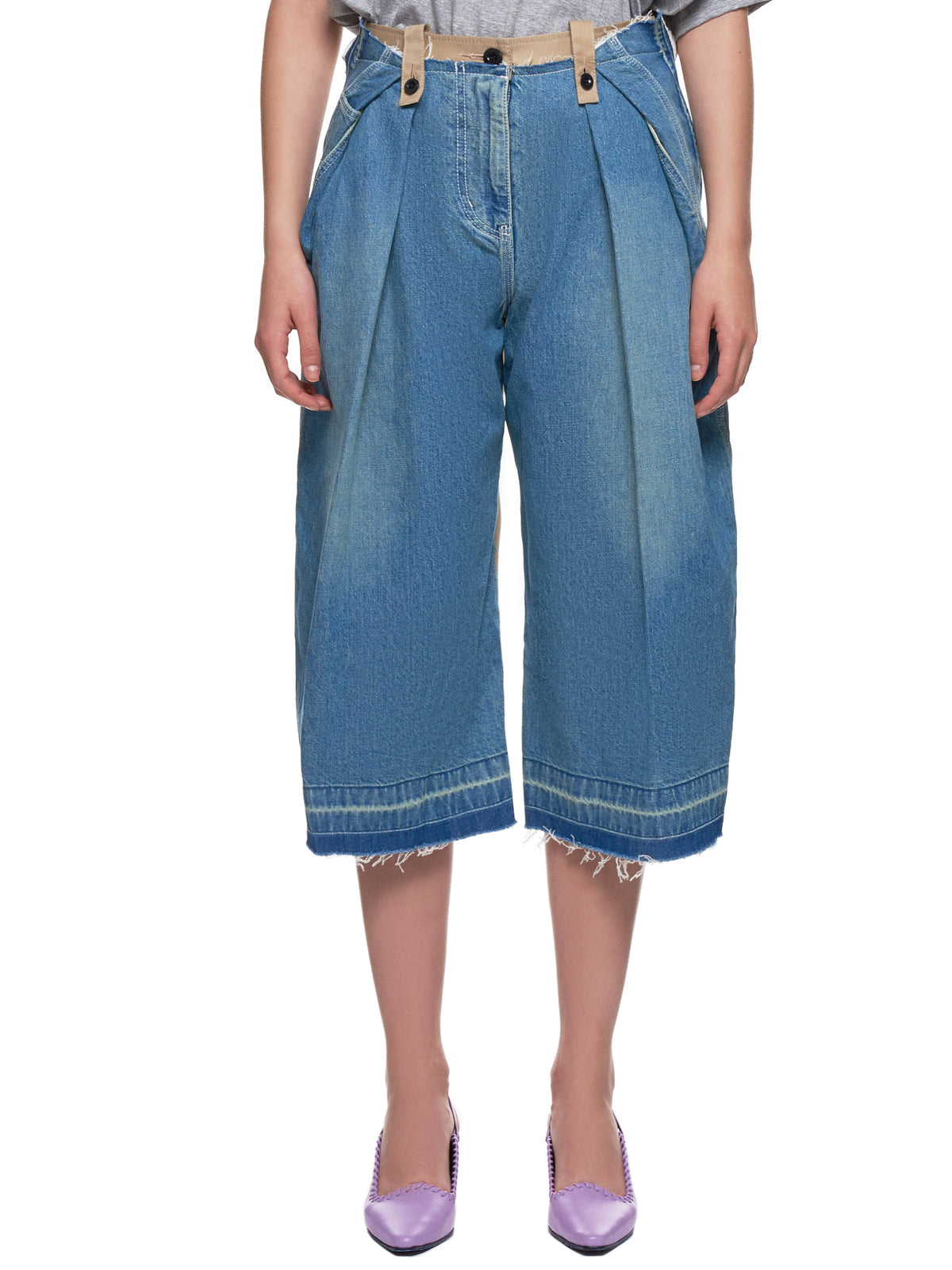 Split Pants (19-04479-LIGHT-BLUE-BEIGE)