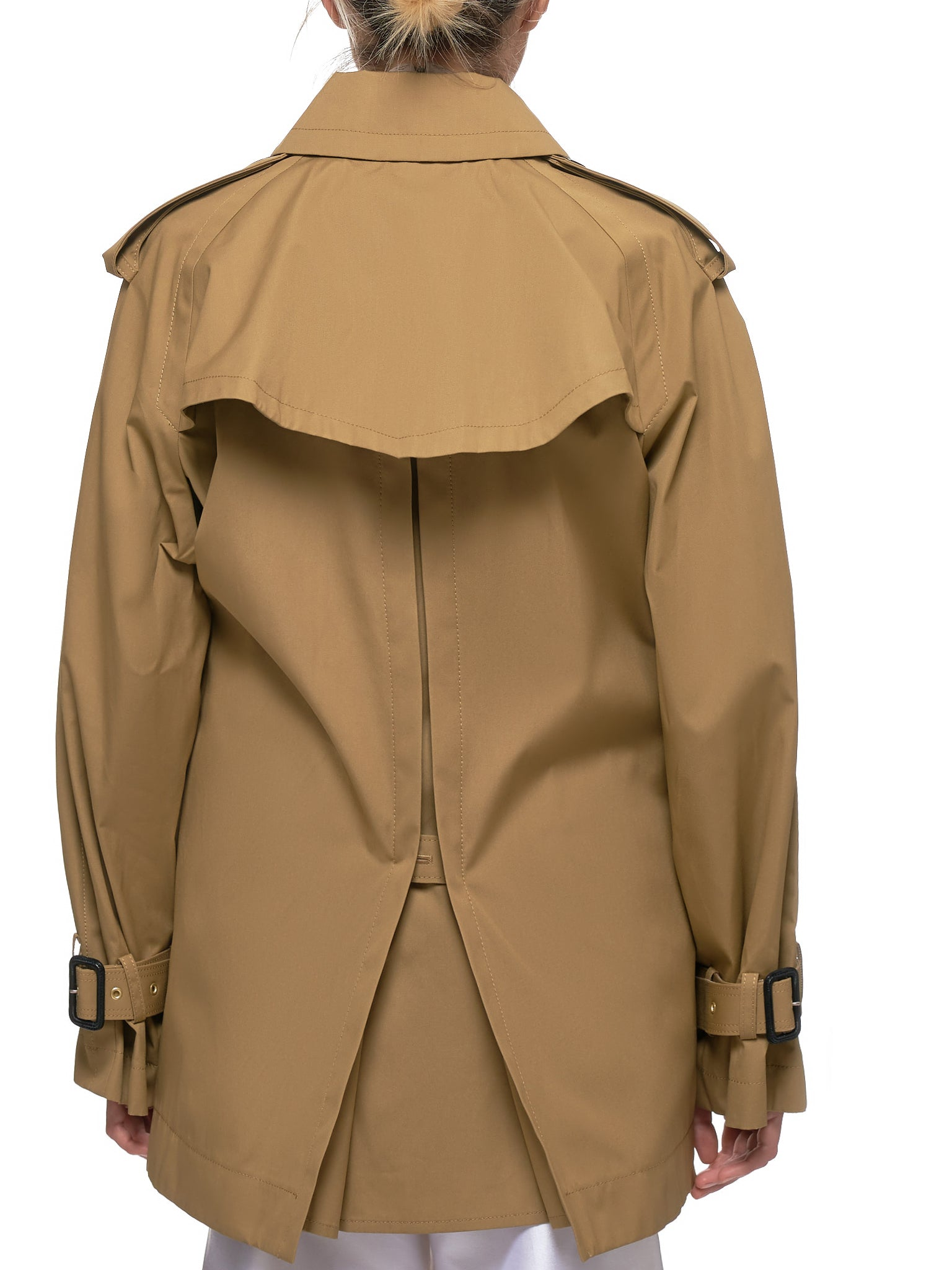 Double Breasted Jacket (19-04704-BEIGE-KHAKI)