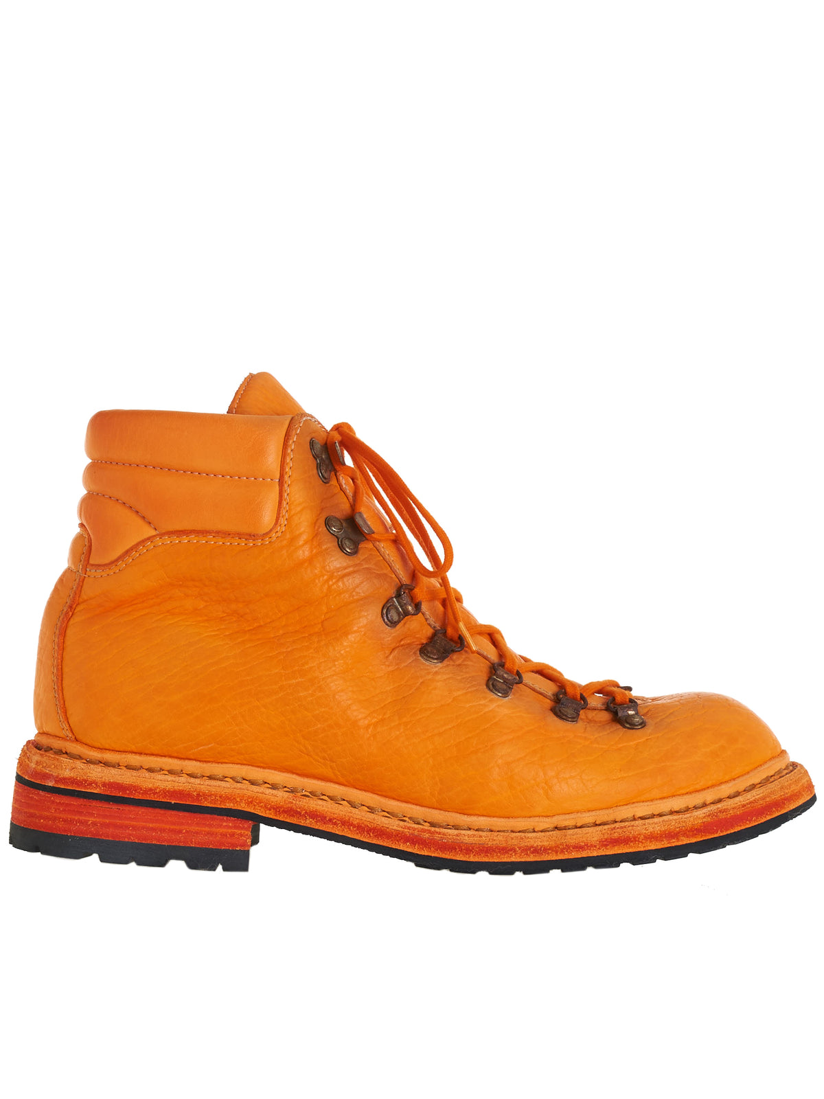19 Bison Leather Boots (19-BISON-FG-NEON-ORANGE)
