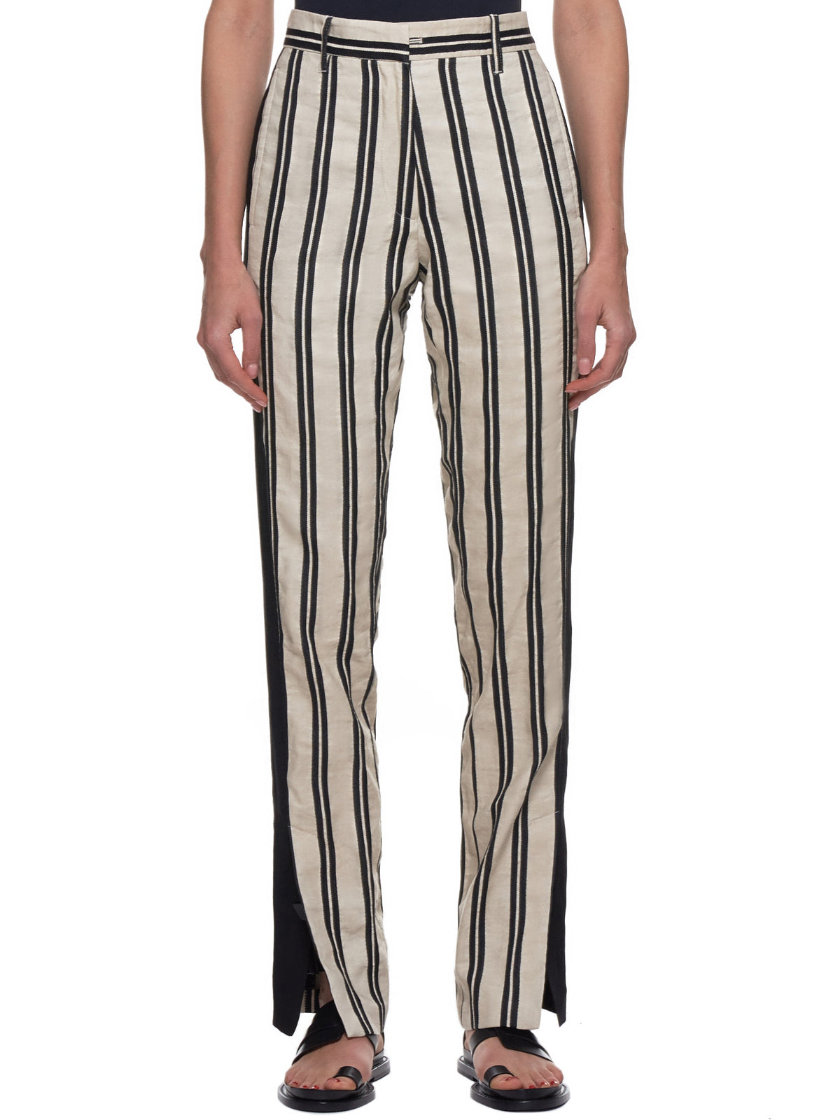 Ann Demeulemeester Trousers - Hlorenzo Front