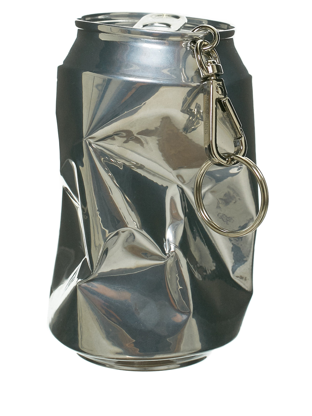 Crushed Can Keyring (191-966-46010-SILVER)