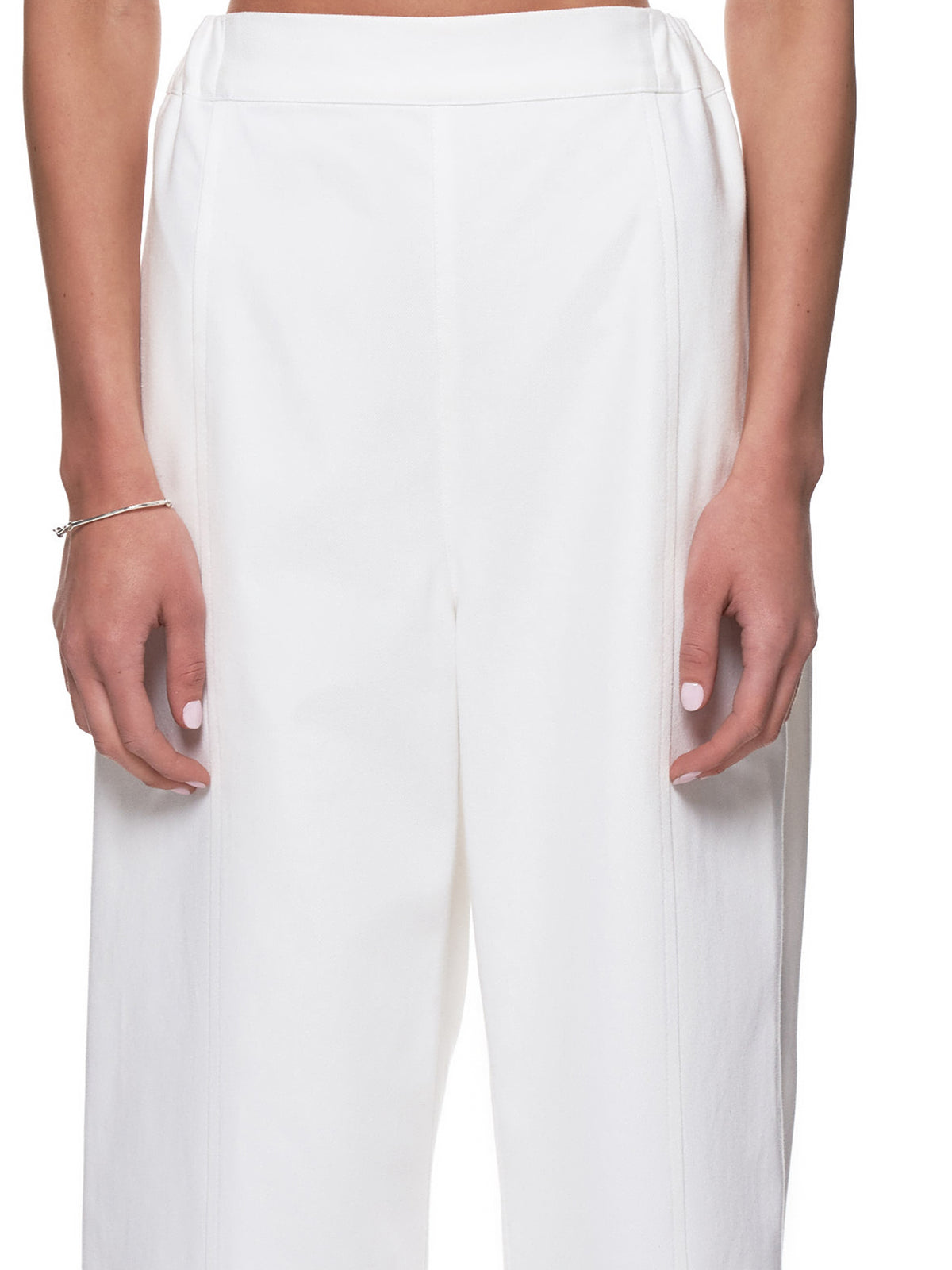 Vented Trousers (191-PT05-WHITE)