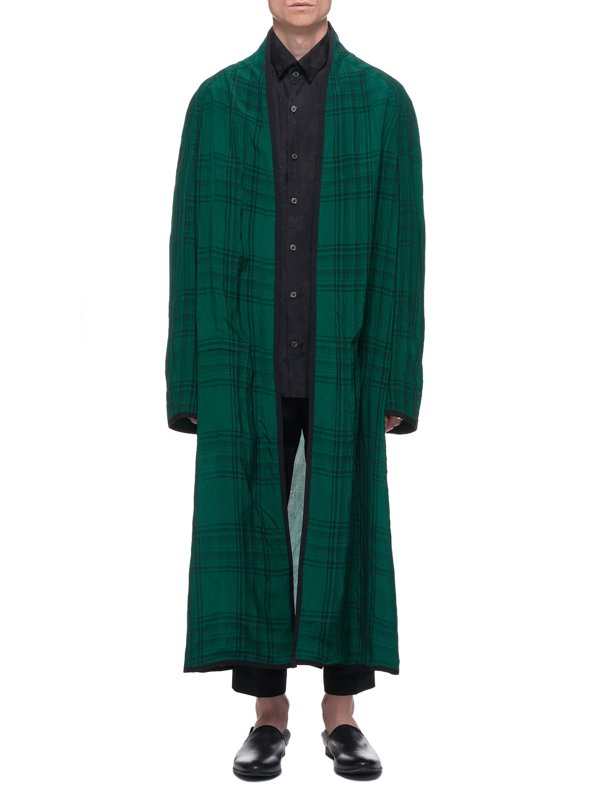 Montauk Coat (193-3104-135-048-GREEN-BLACK)