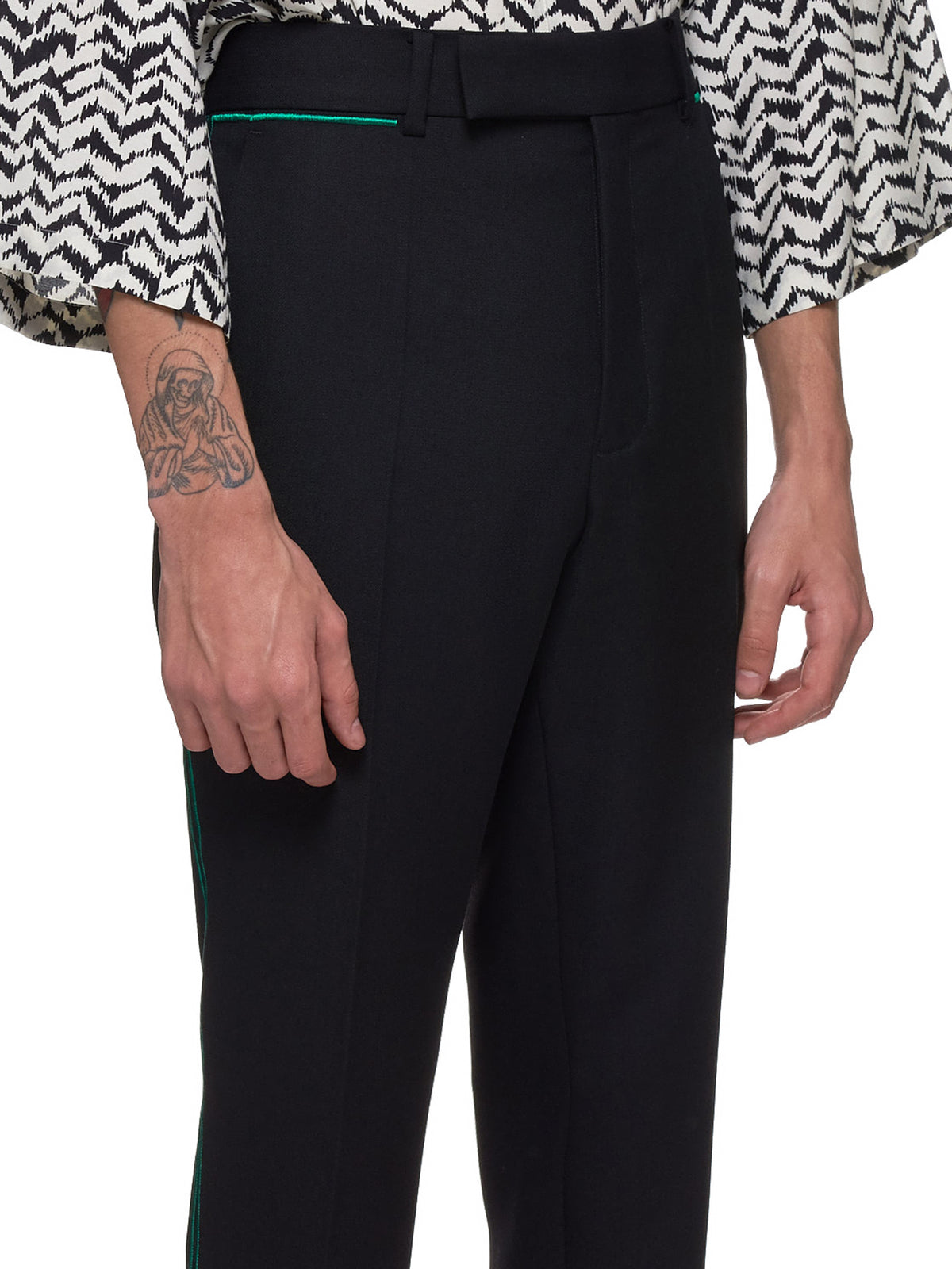 Haider Ackermann Pants - Hlorenzo Detail 2