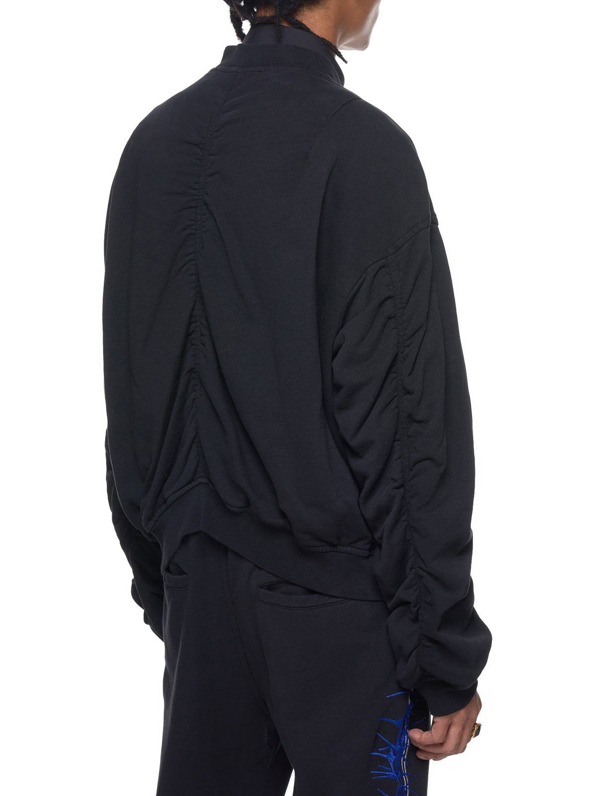 Haider Ackermann Embroidered Bomber - Hlorenzo Detail 2
