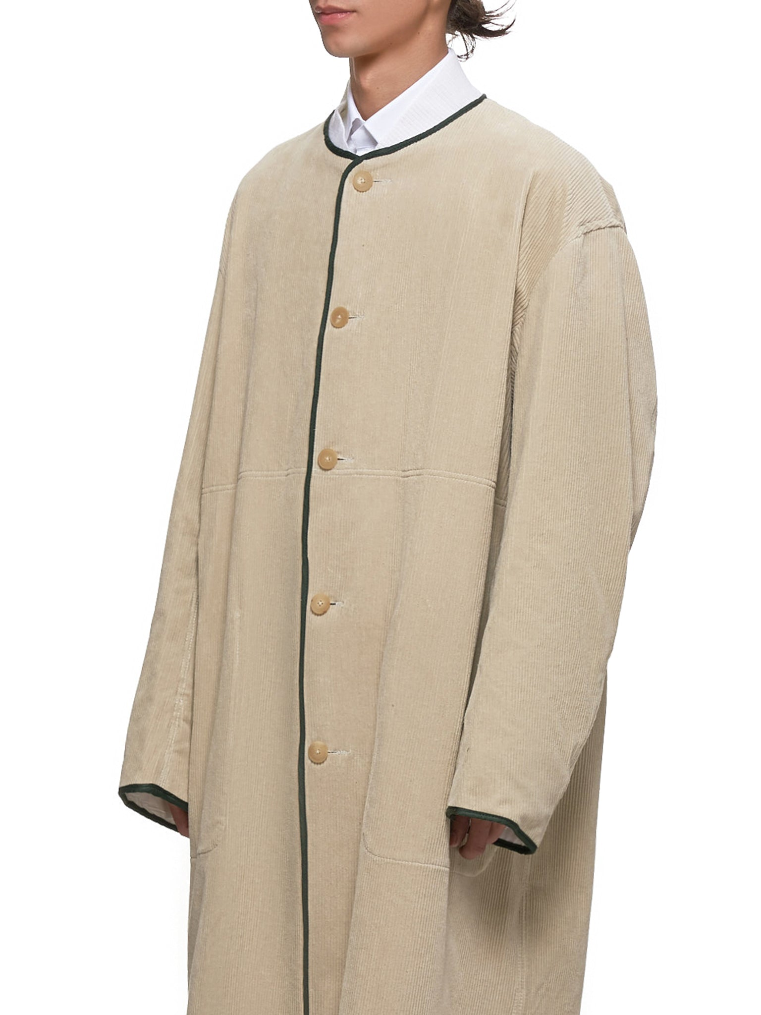 Haider Ackermann Coat - Hlorenzo Detail 1