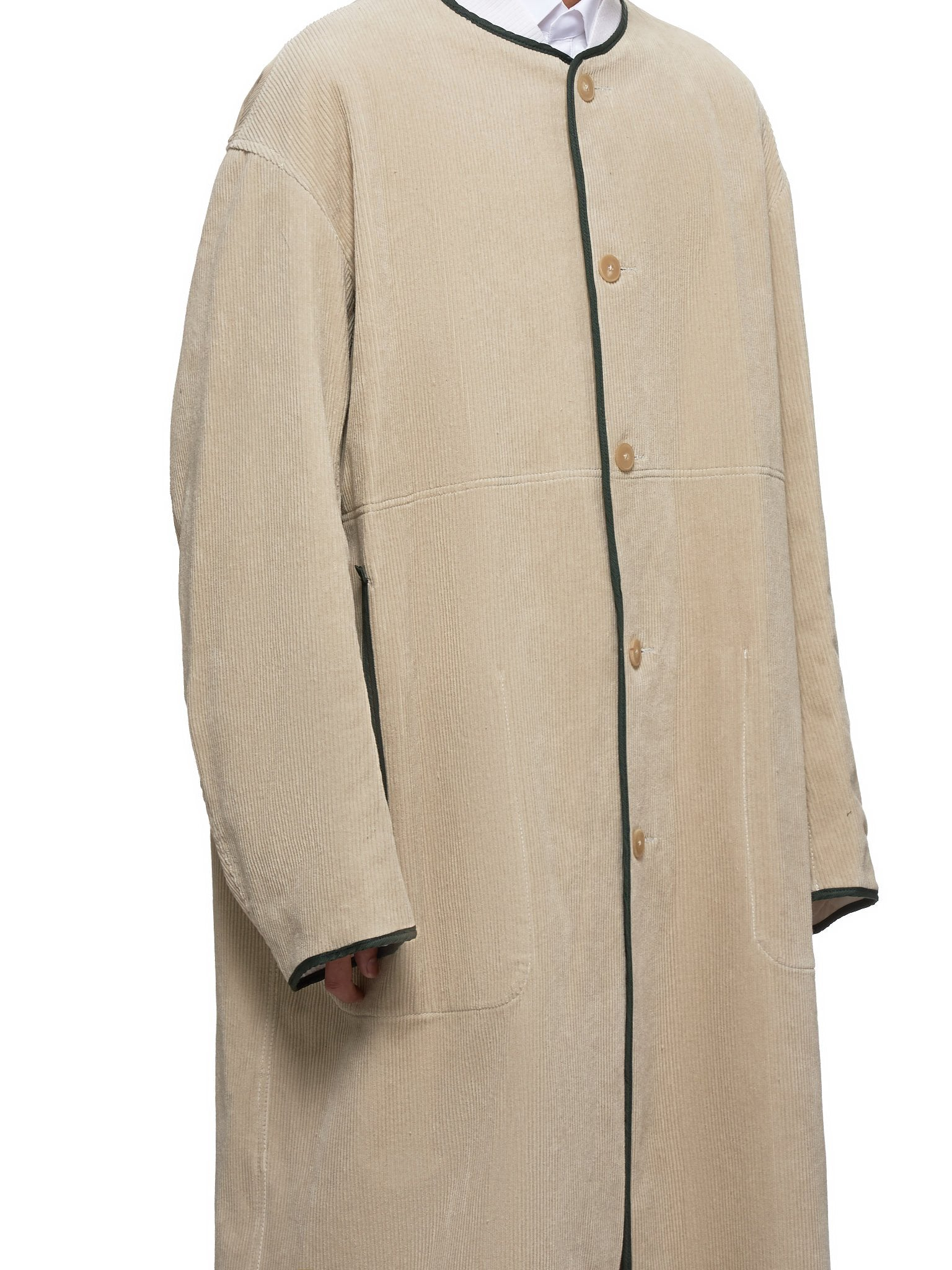 Haider Ackermann Coat - Hlorenzo Detail 2