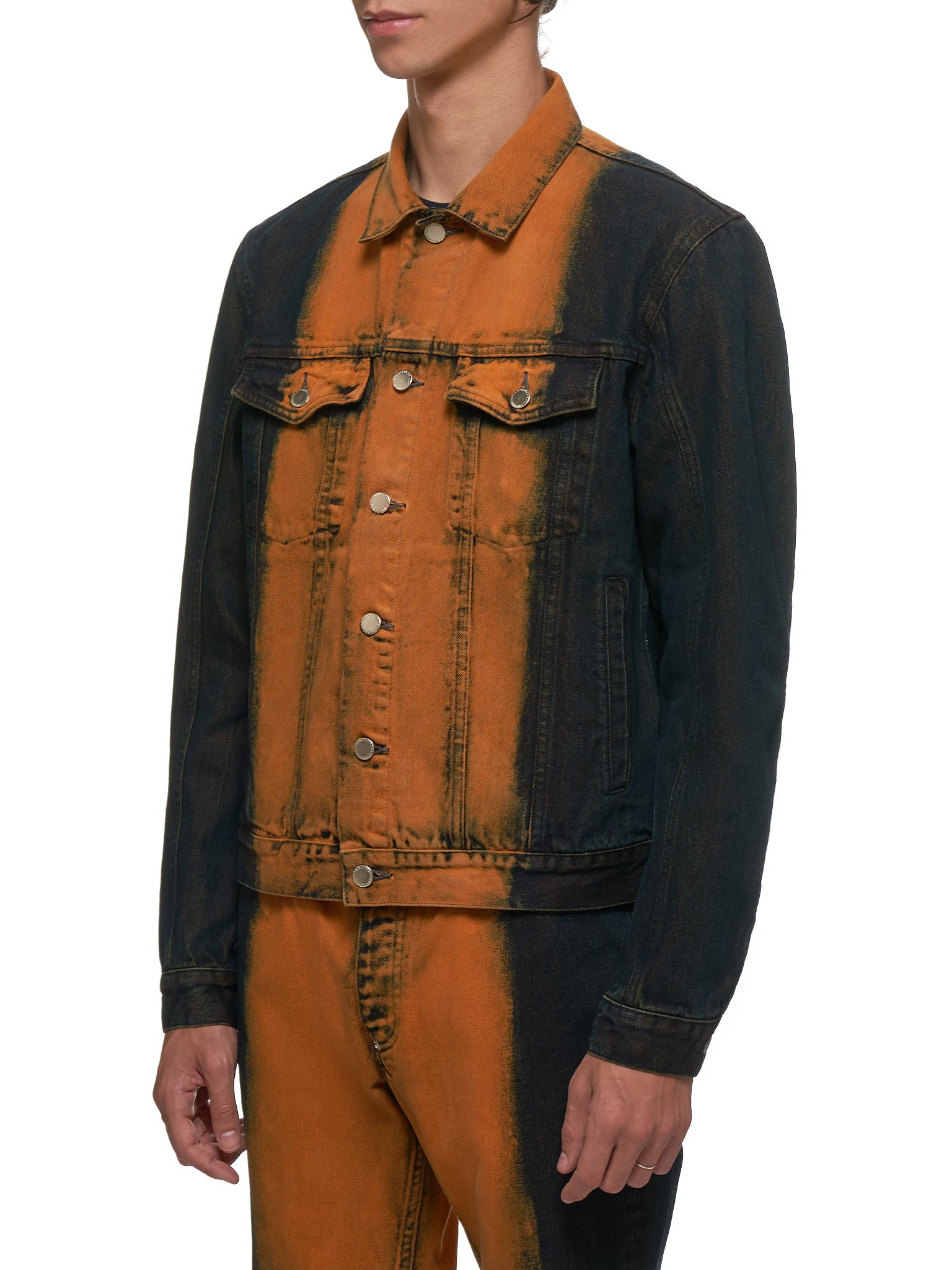John Lawrence Sullivan Denim Jacket - Hlorenzo Side