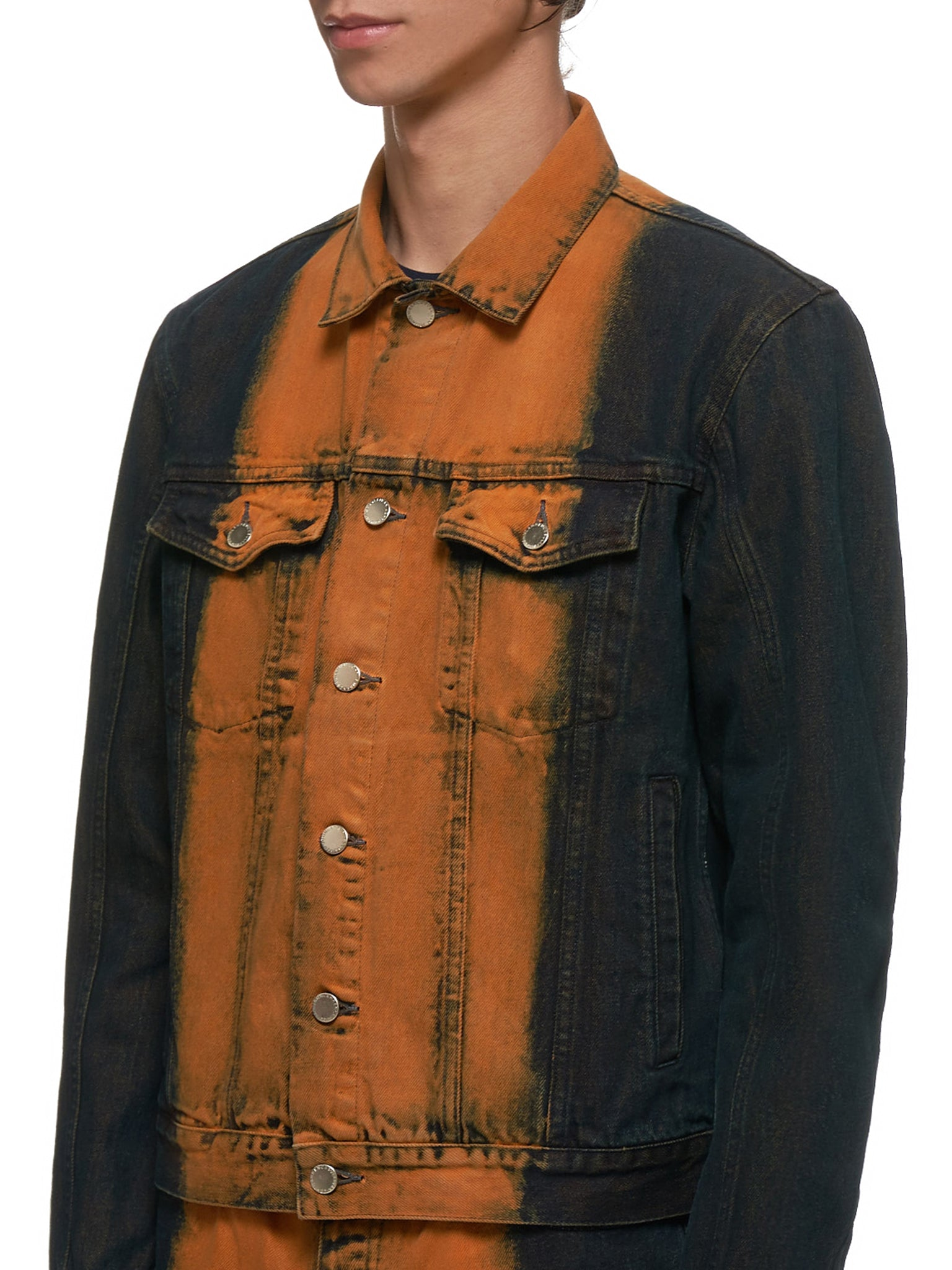 John Lawrence Sullivan Denim Jacket - Hlorenzo Detail 1