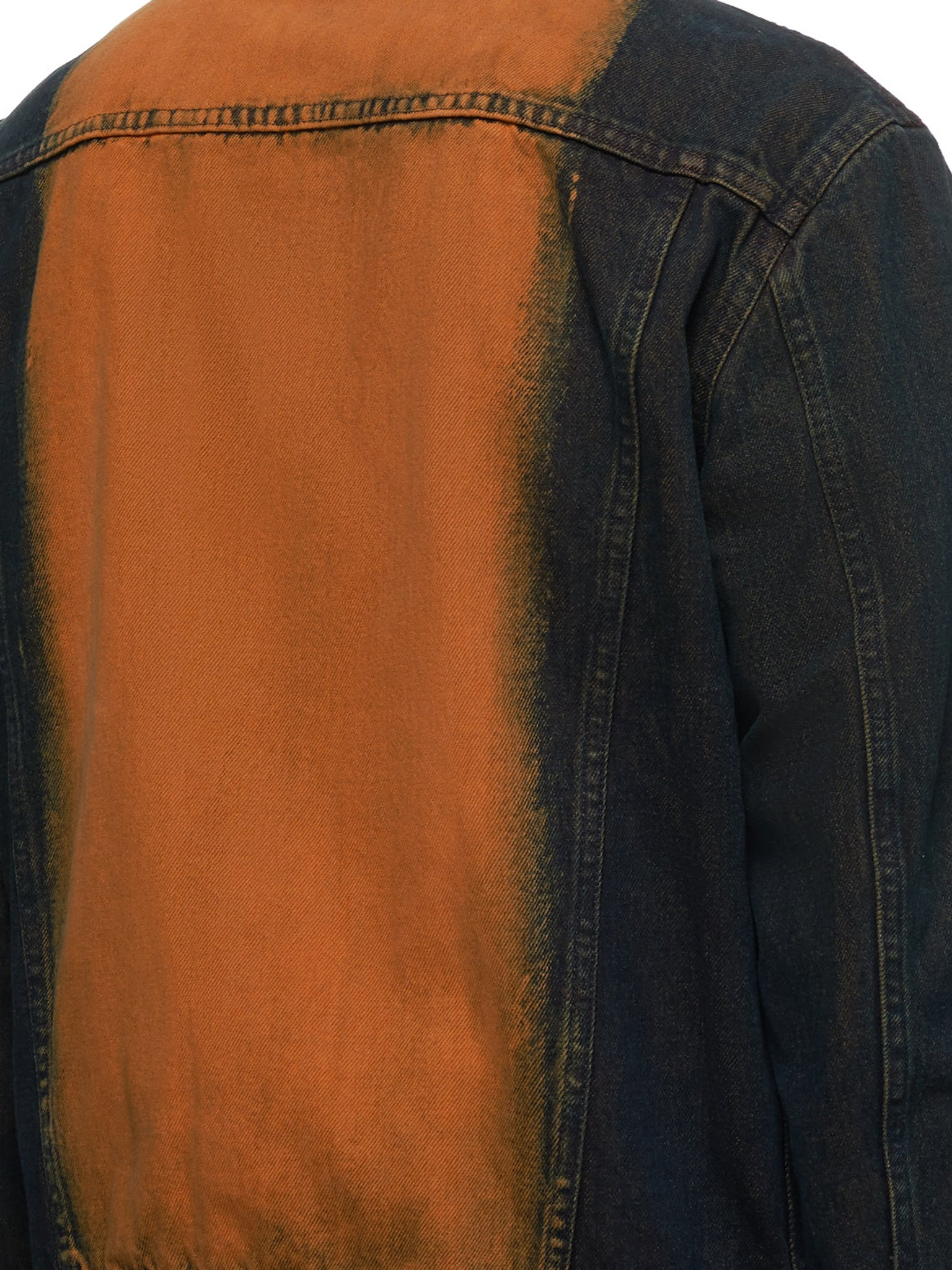 John Lawrence Sullivan Denim Jacket - Hlorenzo Detail 2