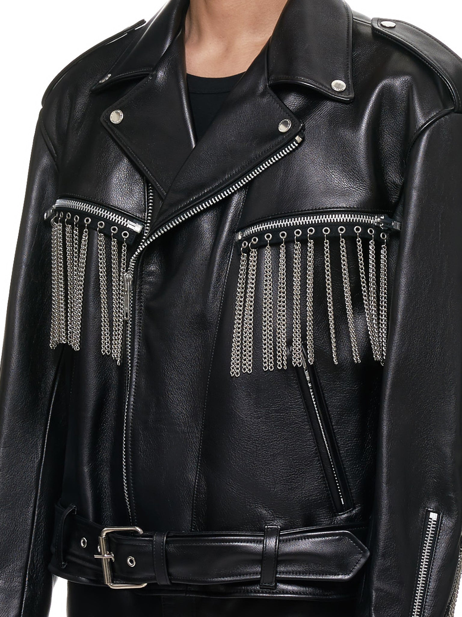 John Lawrence Sullivan Leather Jacket - Hlorenzo Detail 1