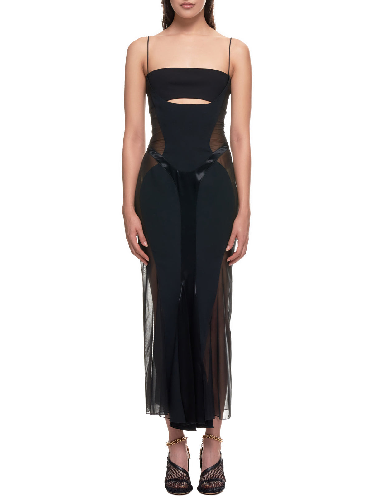 Mugler Dress | H.Lorenzo Front