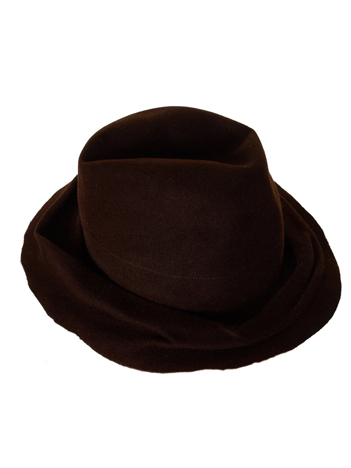 'Traveller' Vintage Fur Hat (TRAVELLER-SM-UNIQ-B#3-BROWN)