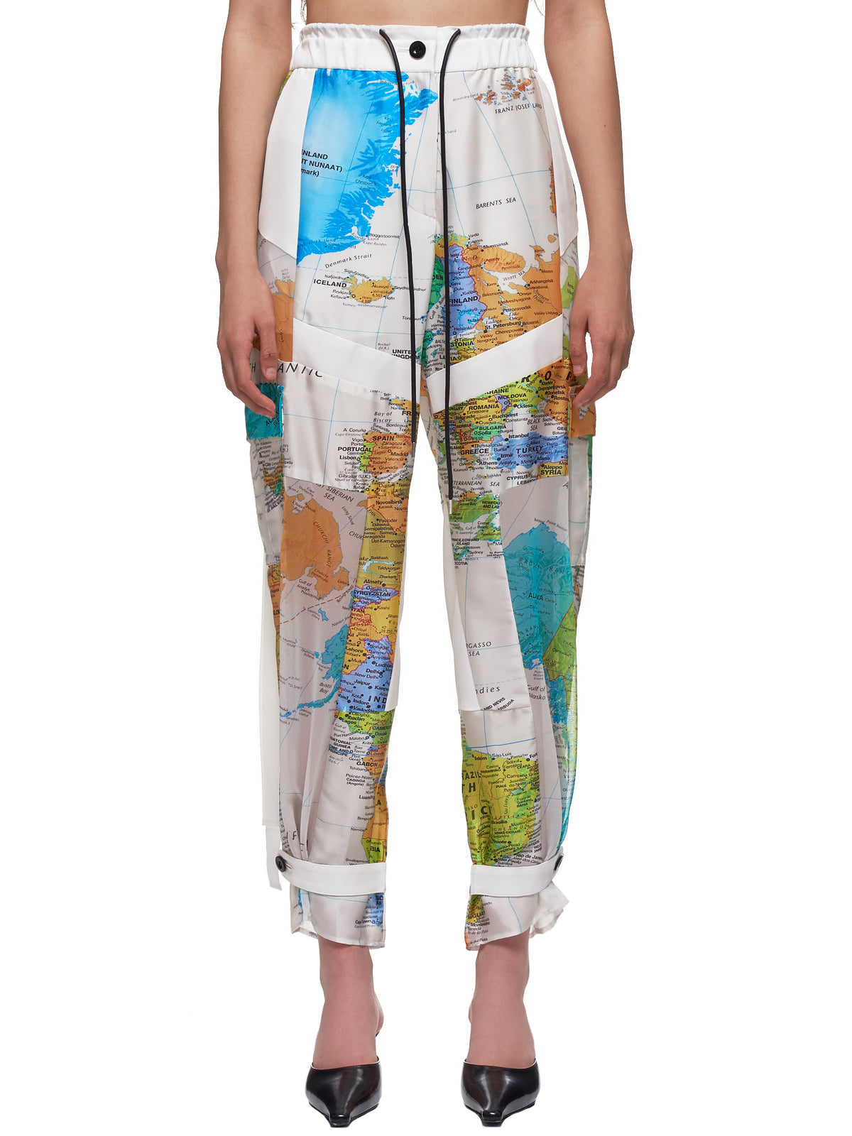 World Map Cargo Trousers (20-04992-MULTI)