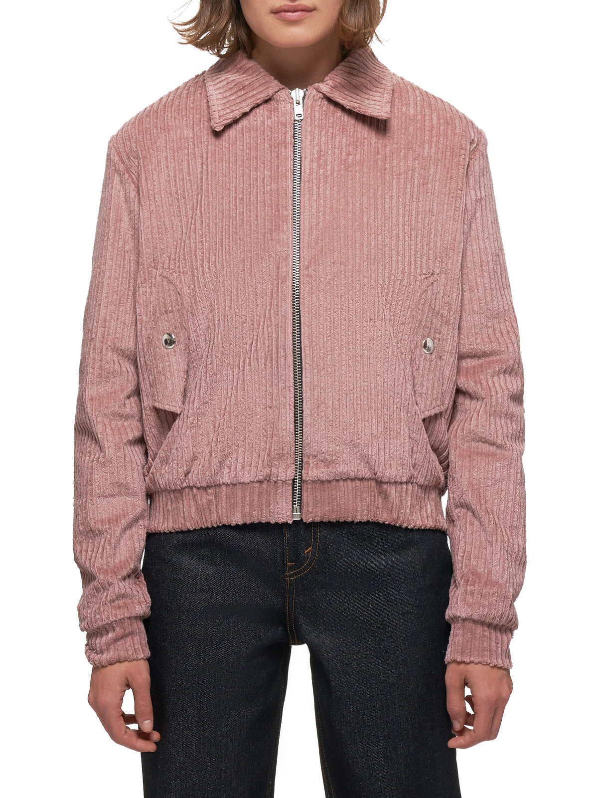 Corduroy Jacket (20-26-W-DUSTY-PINK-PRINT)