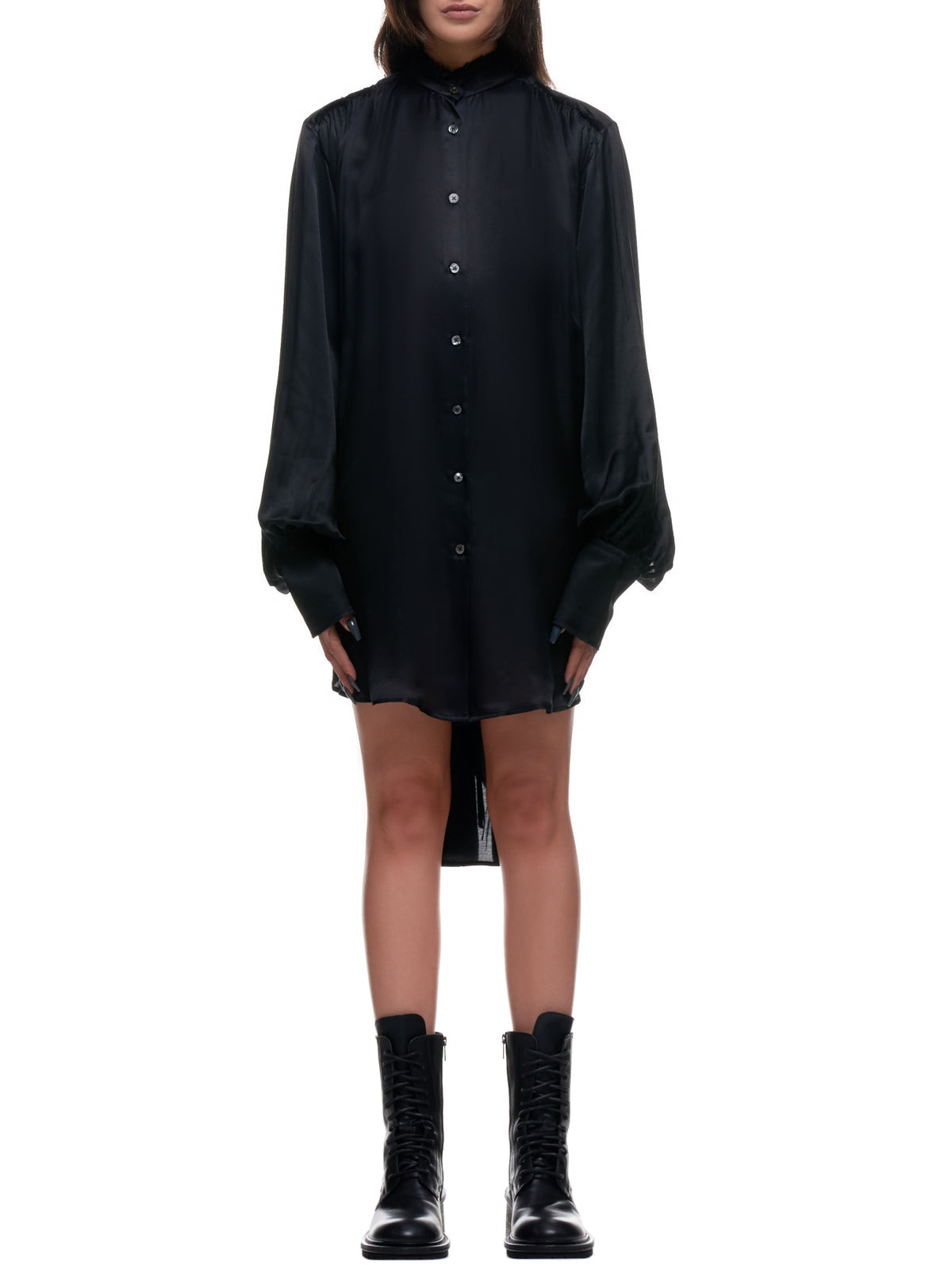 Nanette Shirtdress (2002-2014-P-122-099-BLACK)