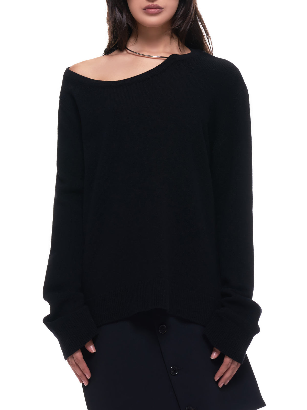 Irek Knitted Sweater (2002-2626-250-099-BLACK)