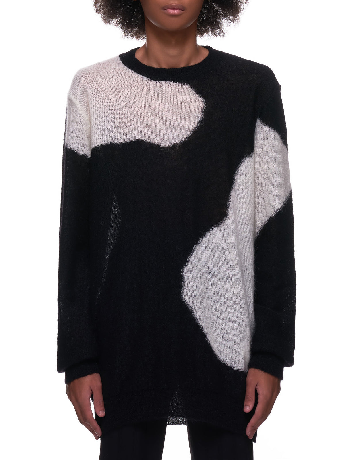 Camelot Knitted Sweater (2002-4008-256-099-BLACK)