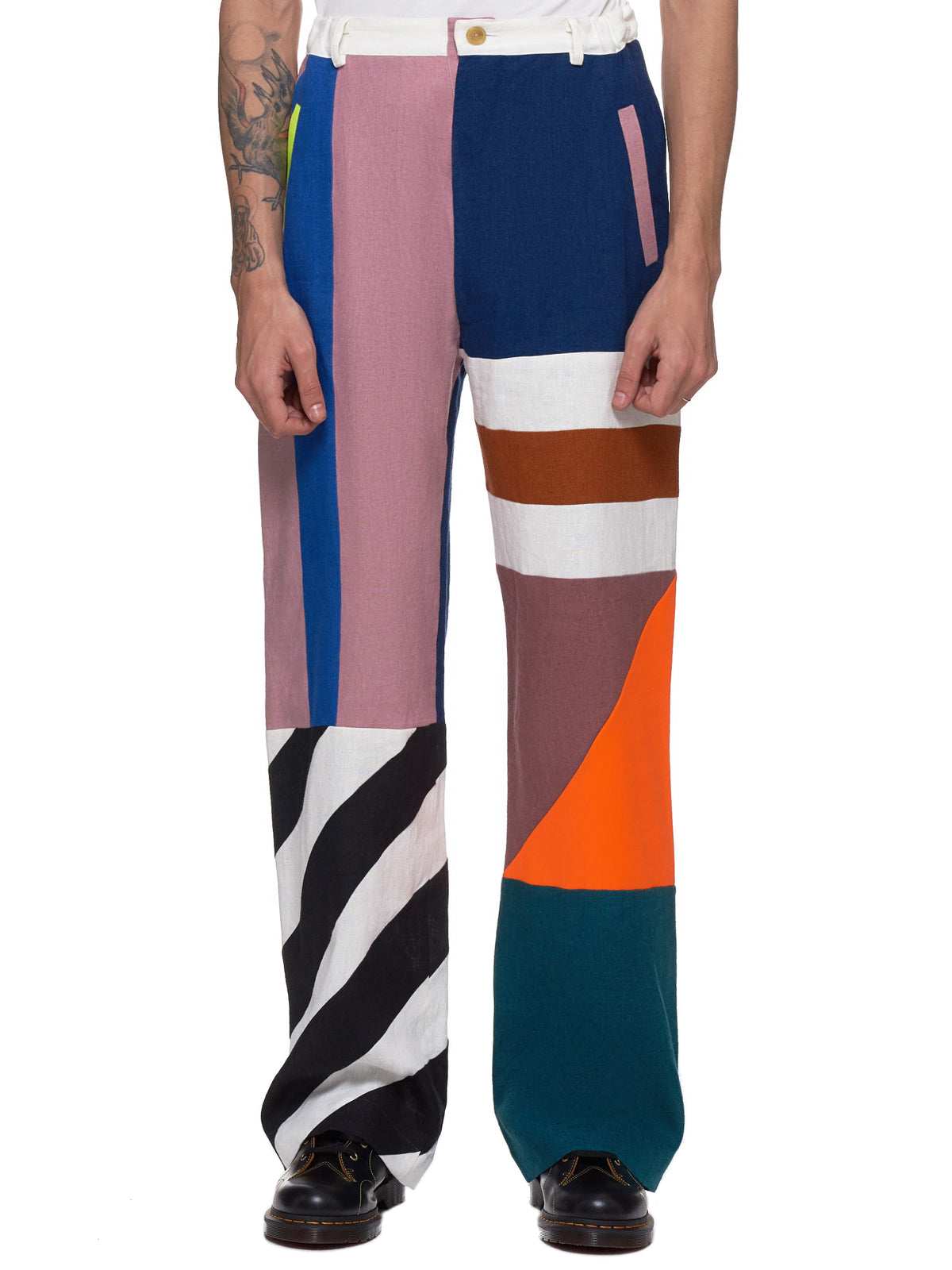 Walter Van Beirendonck Trousers - Hlorenzo Front
