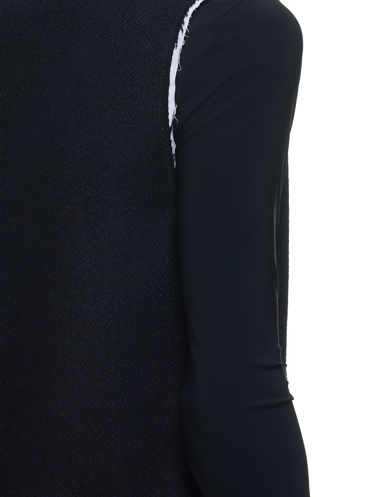 Sleeveless Turtleneck Top (202-400-20005-DARK-NAVY)